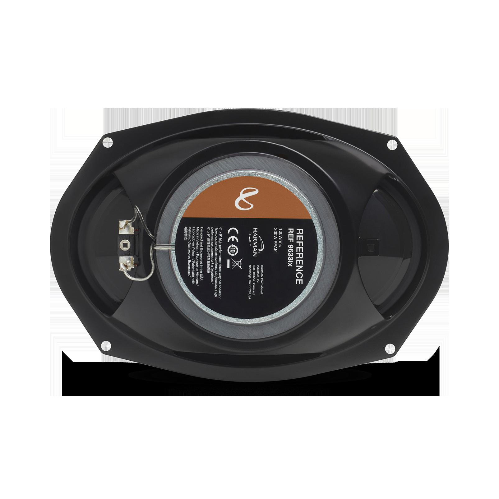 """Reference 9633ix - Black - 6"""" x 9"""" (152mm x 230mm) 3-way car speaker, 300W - Back"""