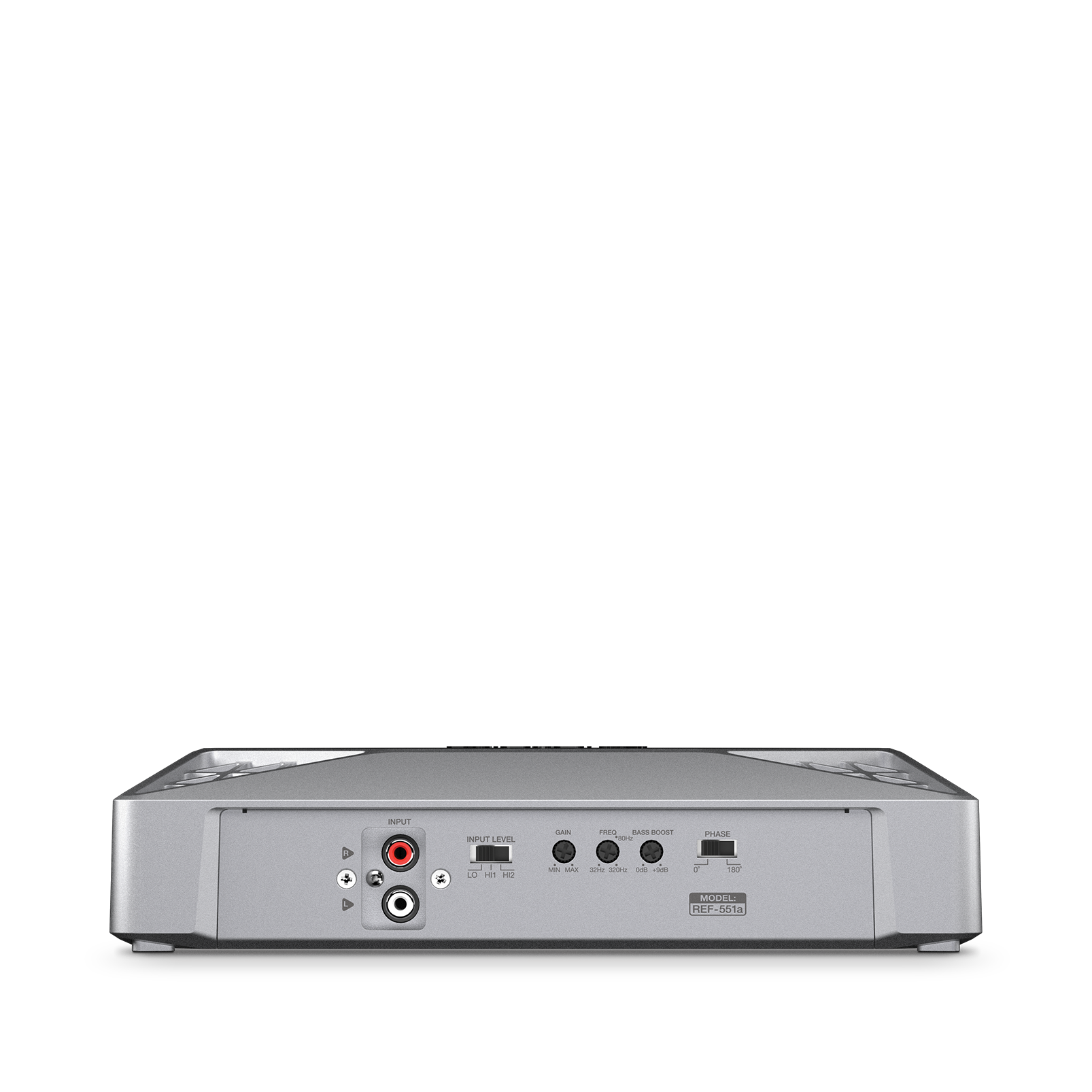 Reference 551A - Silver - Series of high-performance mono, 4-, and 5-channel amplifiers - Detailshot 3