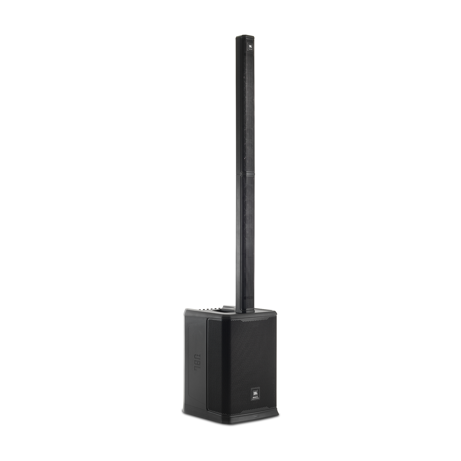 JBL PRX ONE - Black - All-In-One Powered Column PA with Mixer and DSP - Hero