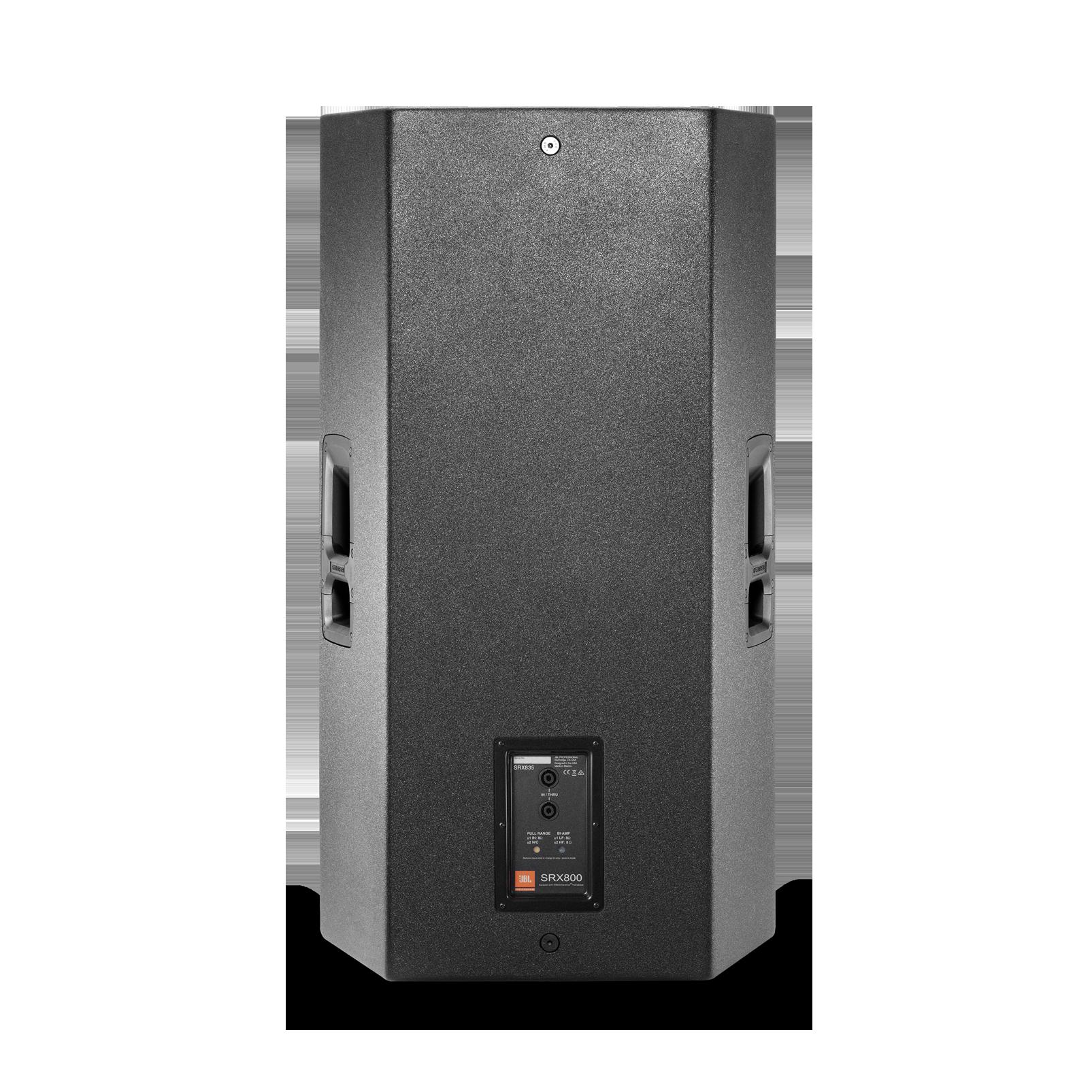 """JBL SRX835 - Black - 15"""" Three-Way Bass Reflex Passive System - Back"""