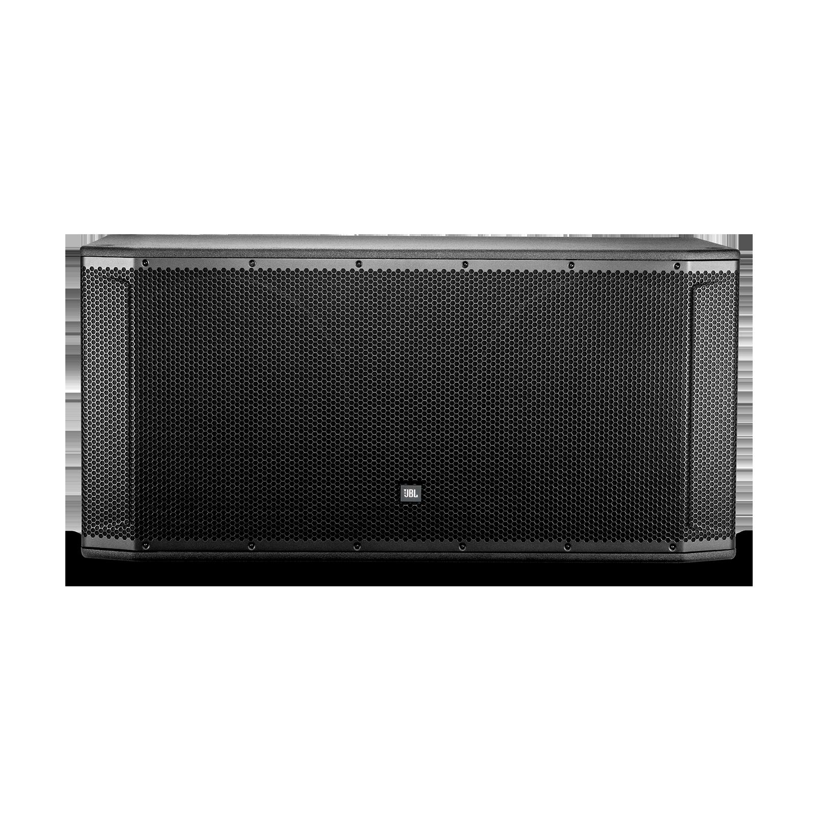 "JBL SRX828S - Black - 18"" Dual Passive Subwoofer System - Front"