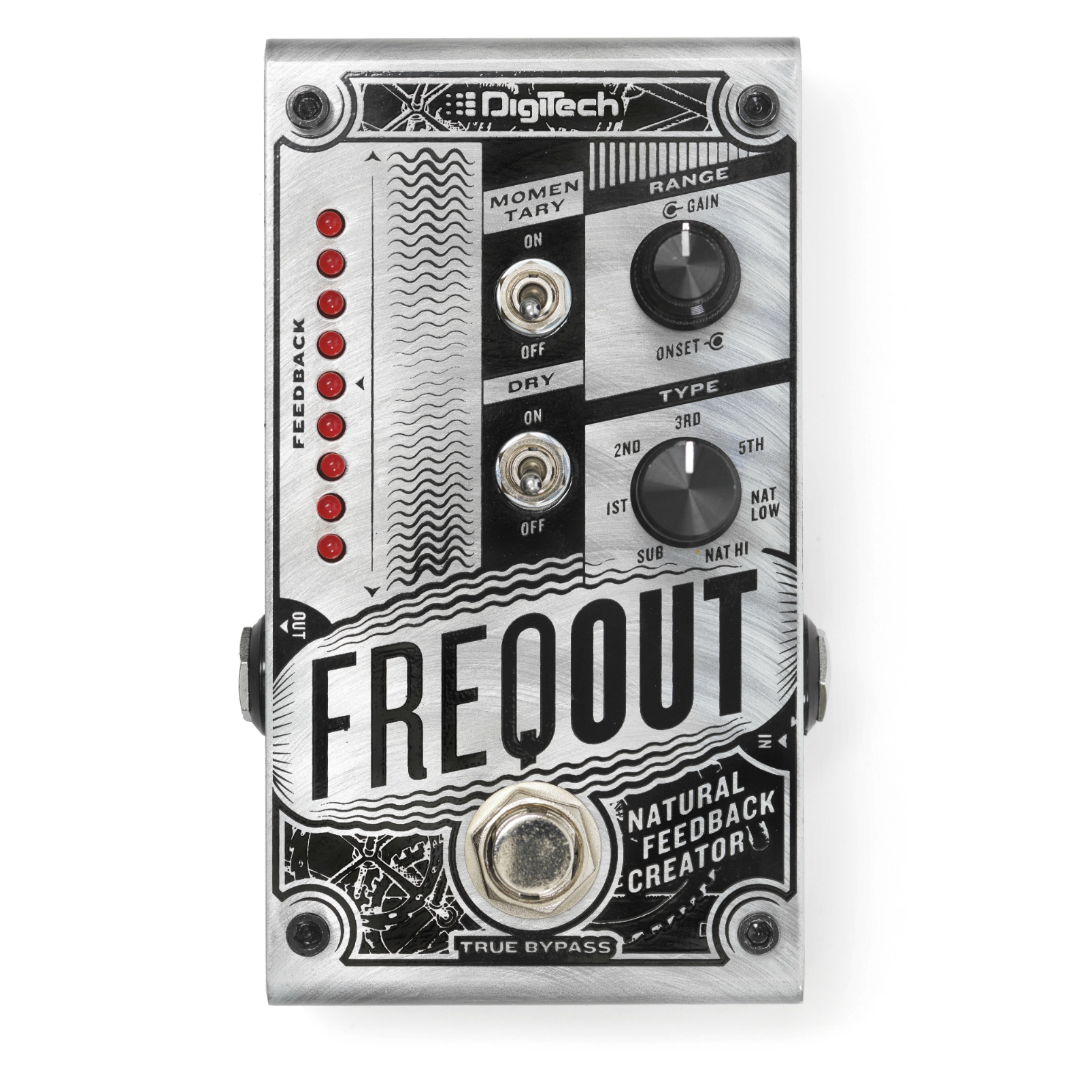 FreqOut - Silver - Natural Feedback Creator - Front