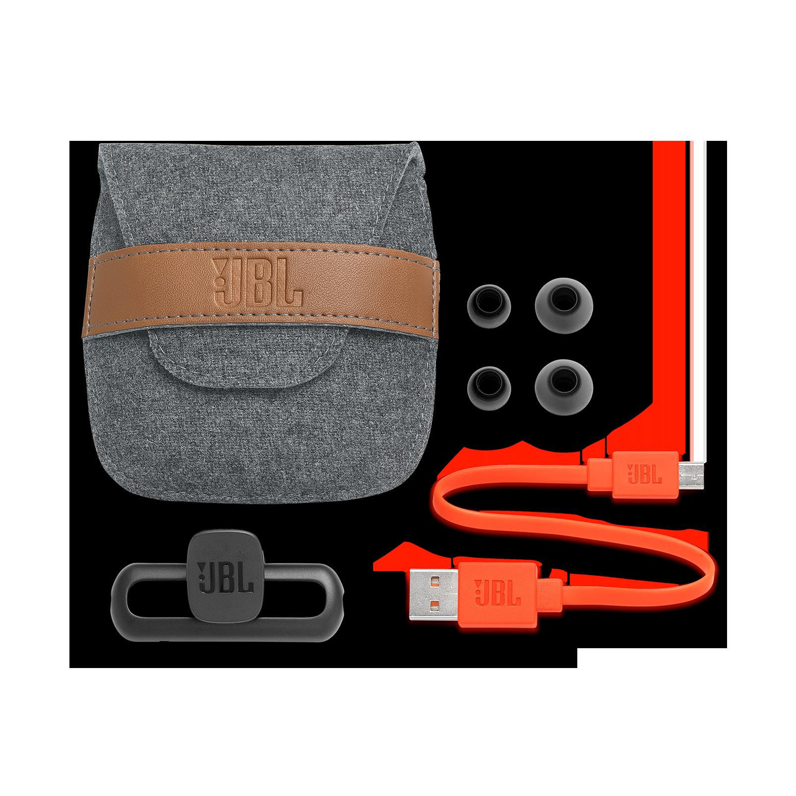 JBL Duet Mini - Silver - Wireless In-Ear headphones. - Kabellose In-Ear-Kopfhörer. - Detailshot 4