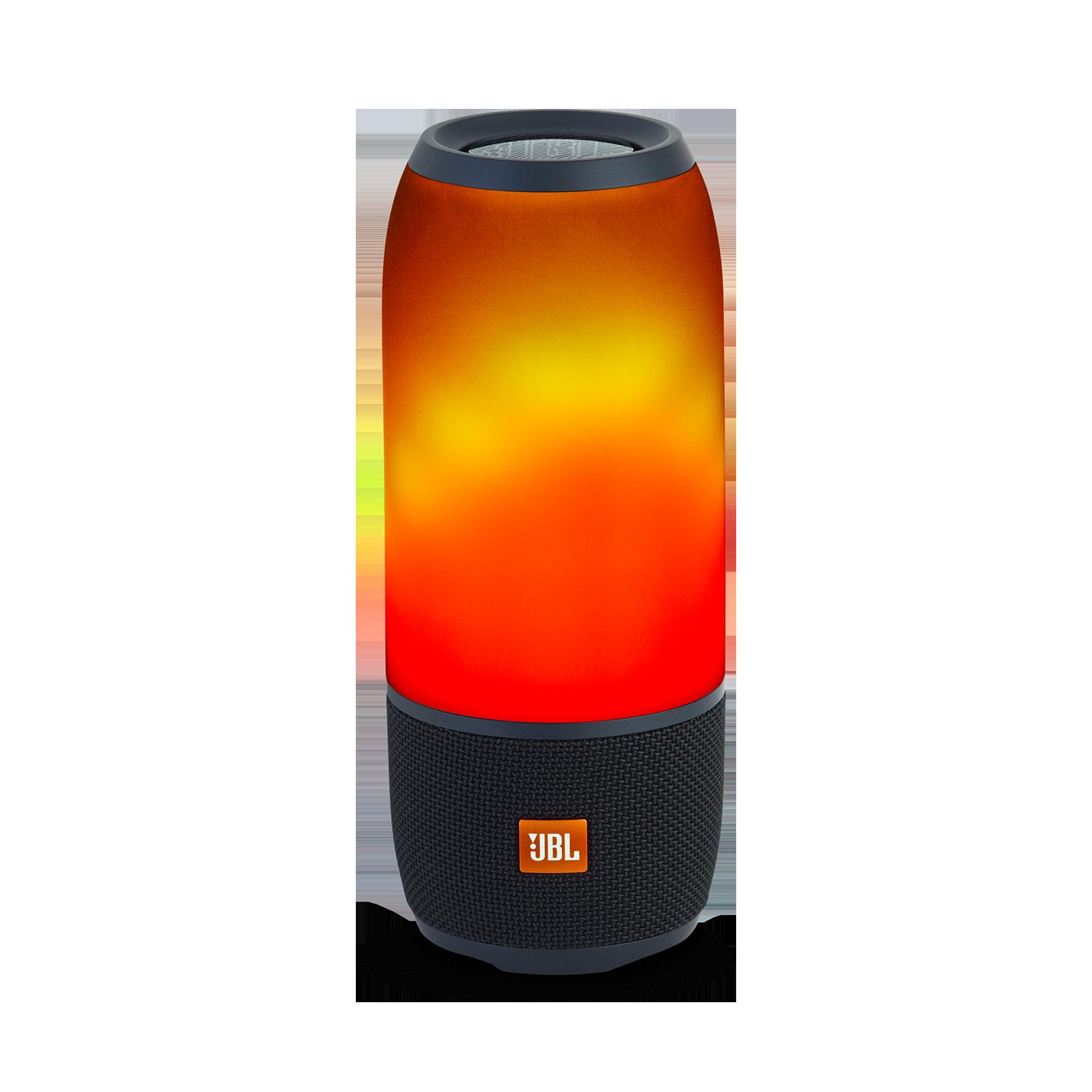 Pulse 3 - Black - Waterproof portable Bluetooth speaker with 360° lightshow and sound. - Detailshot 1