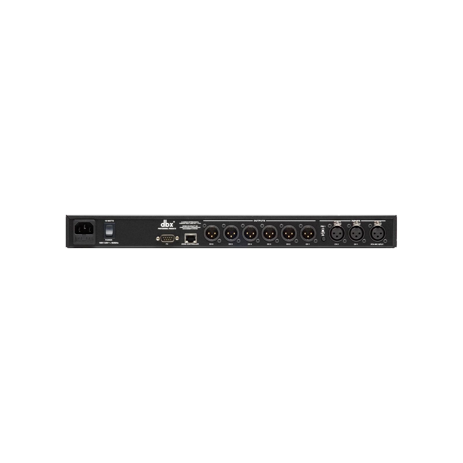 DriveRack 260 - Black - Loudspeaker management system - Back