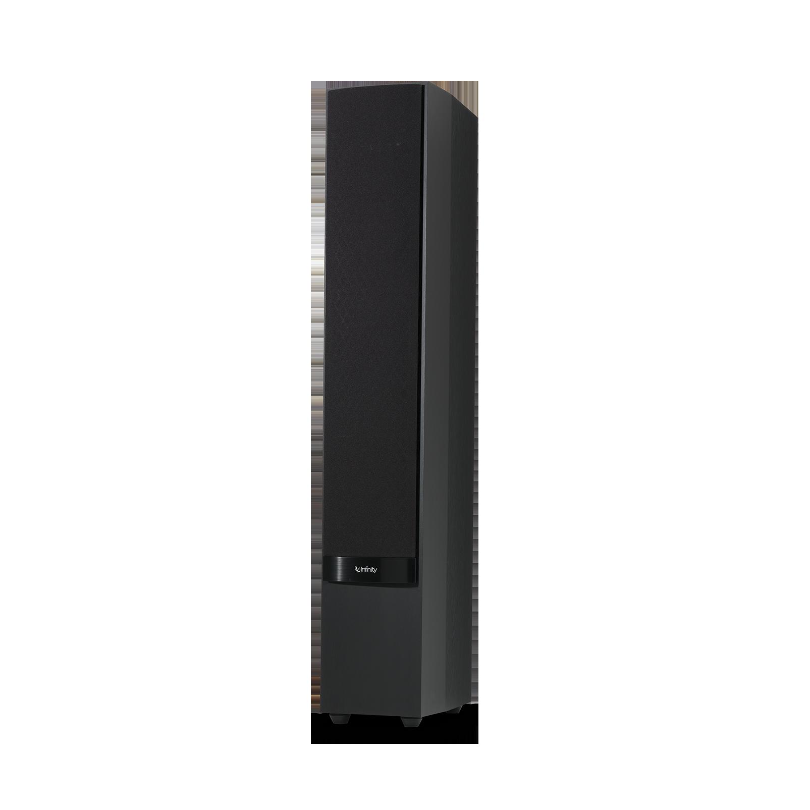 "Reference 253 - Black - 5-1/4"" 3-Way Floorstanding Loudspeaker - Detailshot 2"
