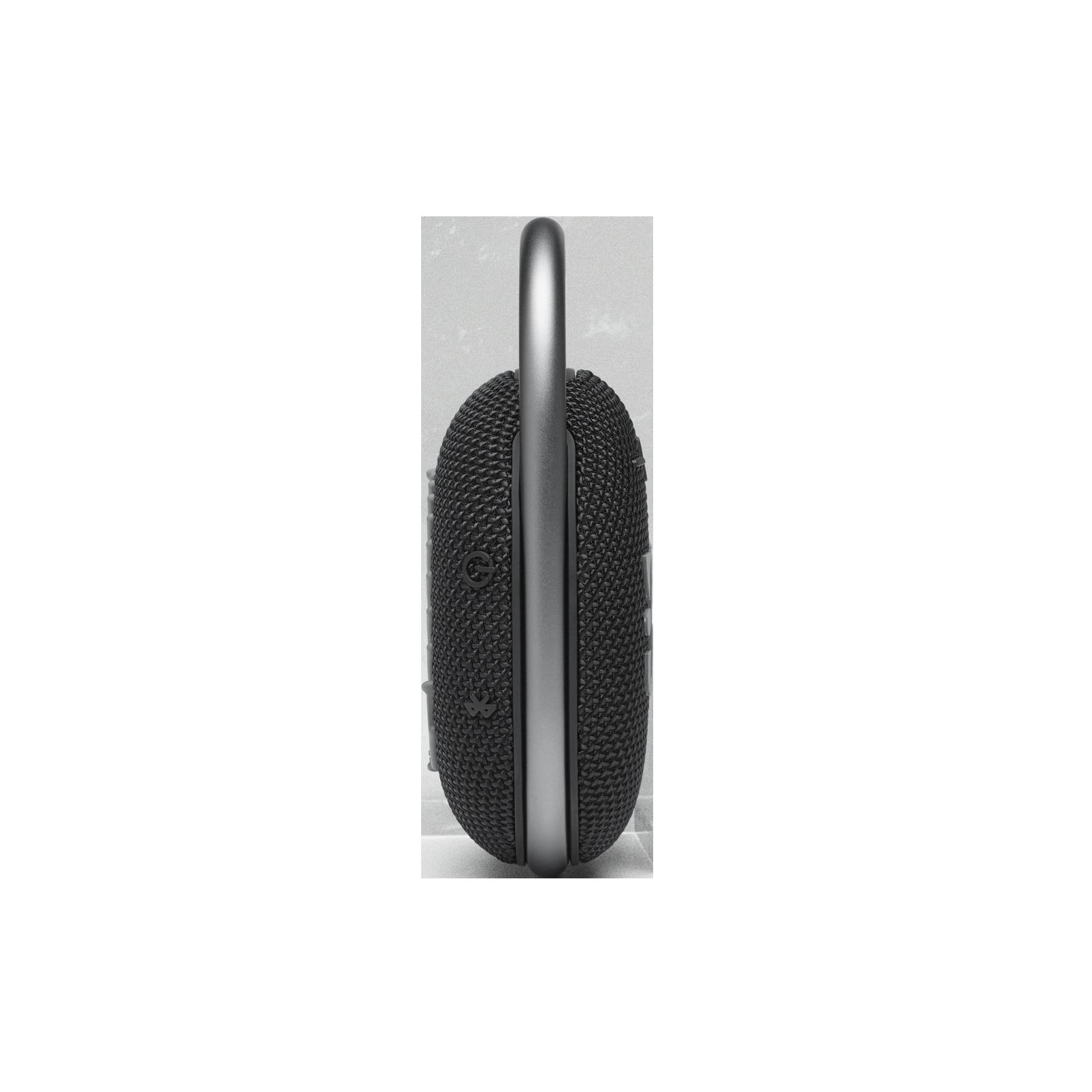 JBL CLIP 4 - Black - Ultra-portable Waterproof Speaker - Left
