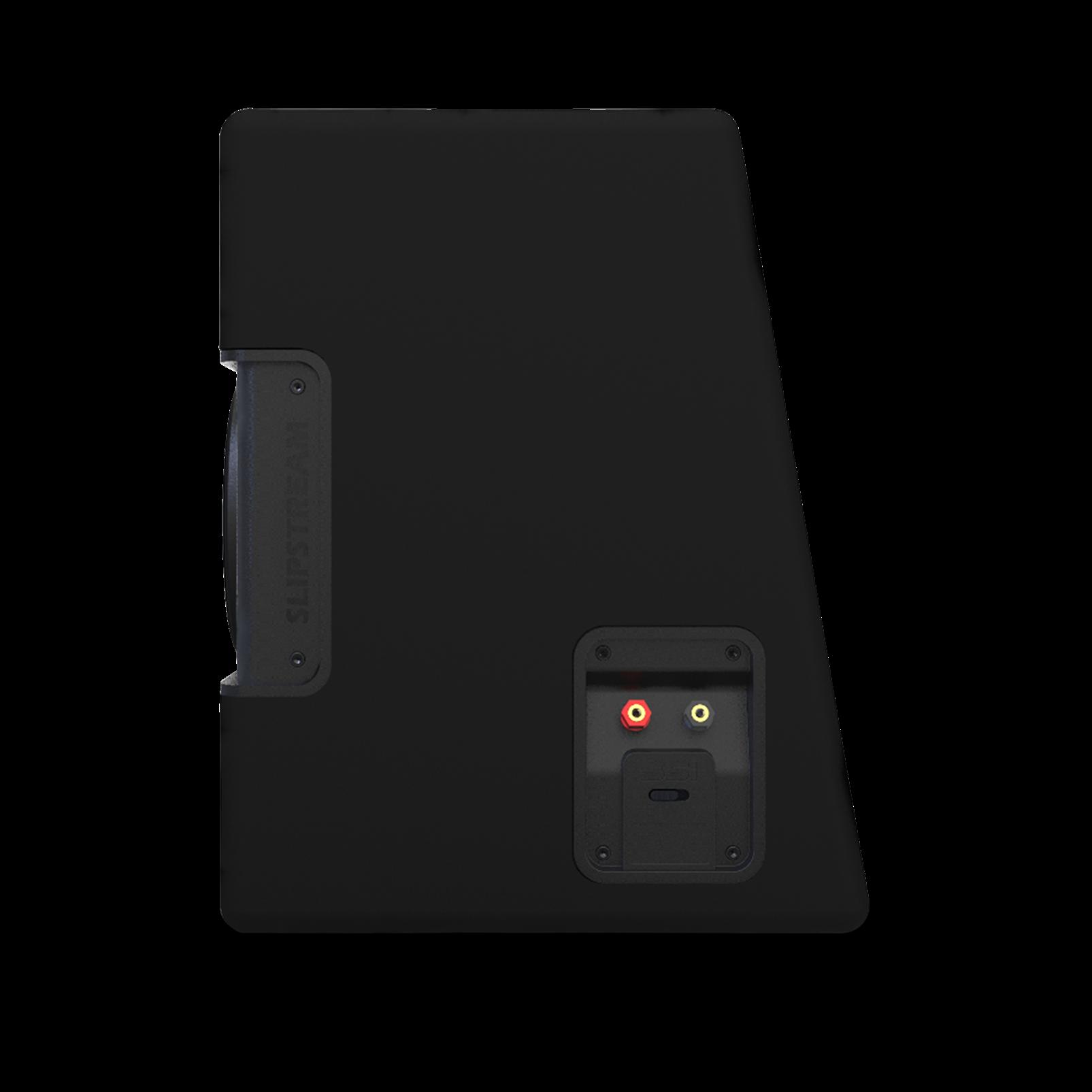 """S2-1024SS - Black - 10"""" (250mm) Slipstream ported enclosure - Detailshot 7"""