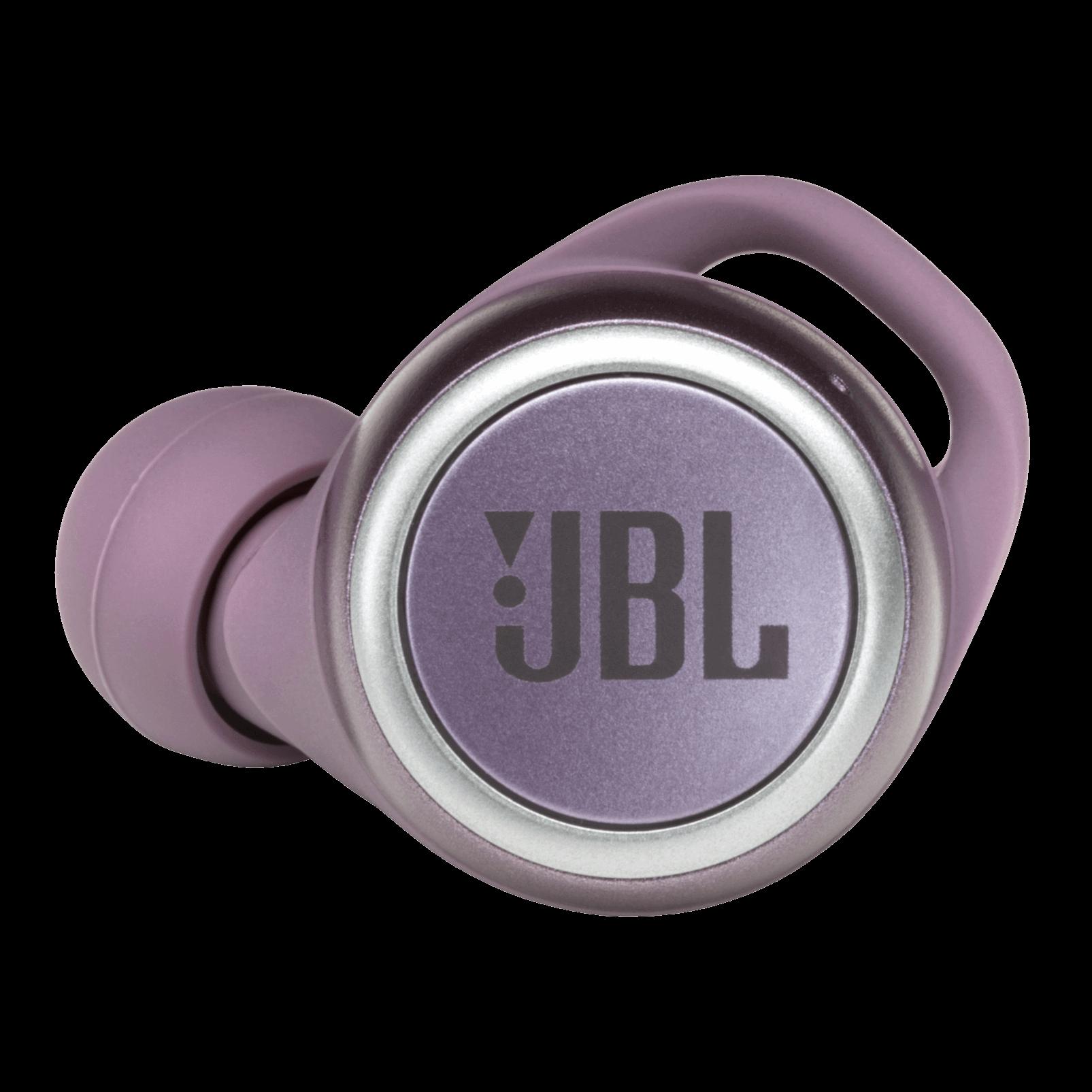 JBL Live 300TWS - Purple - True wireless earbuds - Detailshot 1