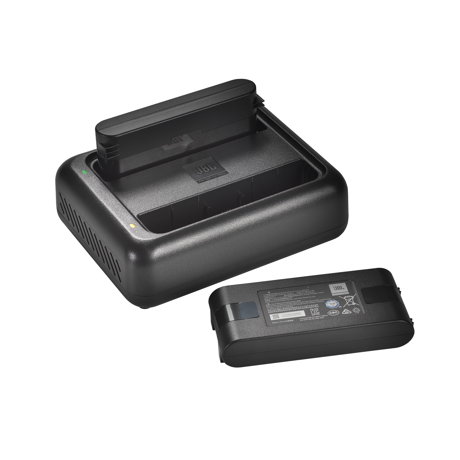 JBL EON ONE Compact Dual Battery Charger - Black - Rapid dual charger for EON ONE Compact batteries - Hero