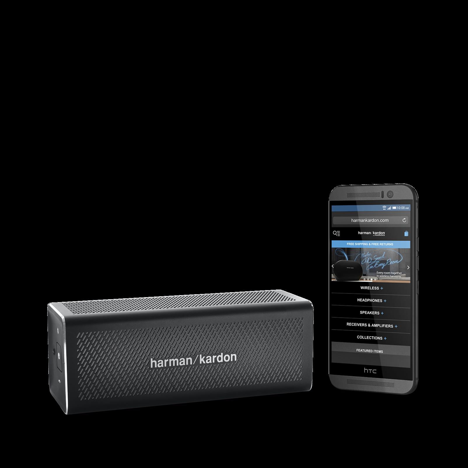 HK One - Black - Portable Bluetooth Speaker - Detailshot 8