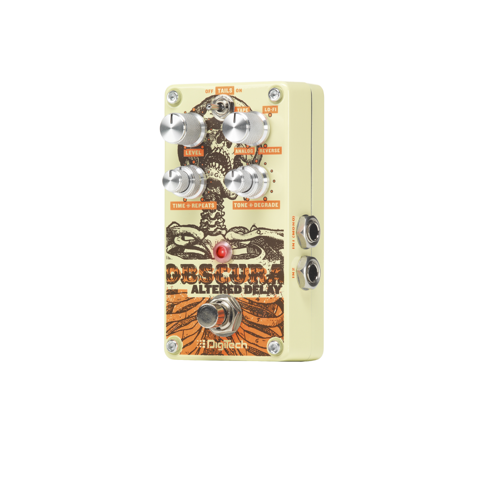 Obscura - Beige - Altered Delay Pedal - Detailshot 2
