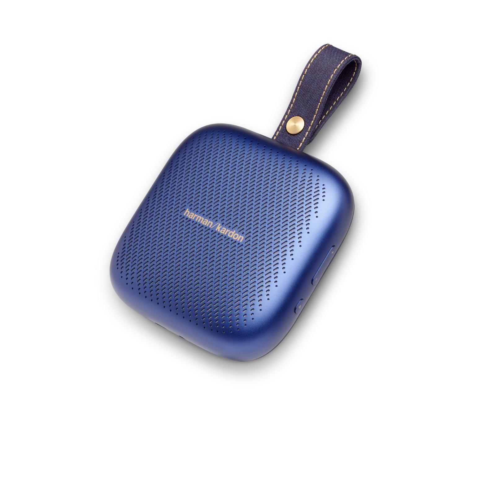 Harman Kardon Neo - Midnight Blue - Portable Bluetooth speaker - Hero