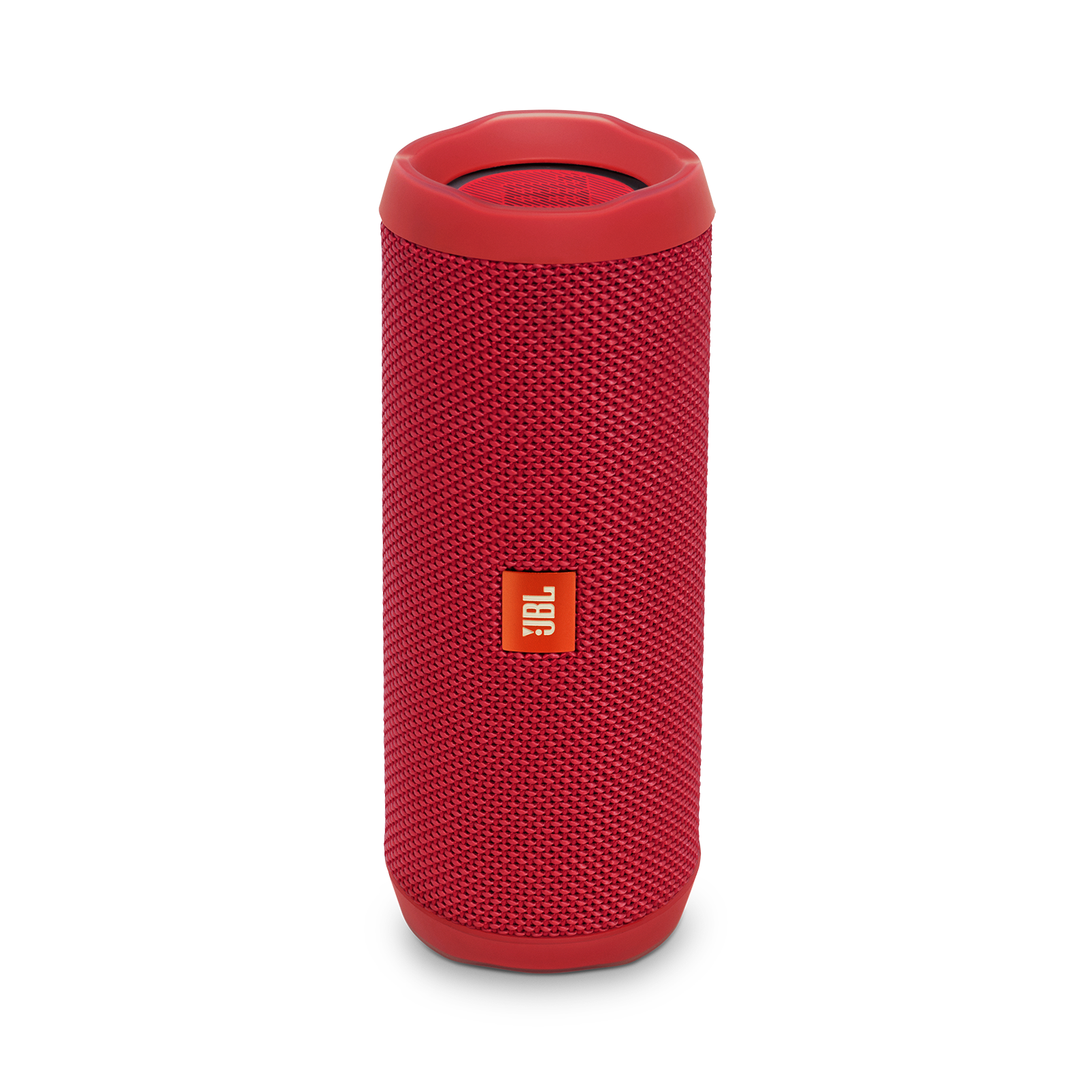 JBL Flip 4 - Red - A full-featured waterproof portable Bluetooth speaker with surprisingly powerful sound. - Hero