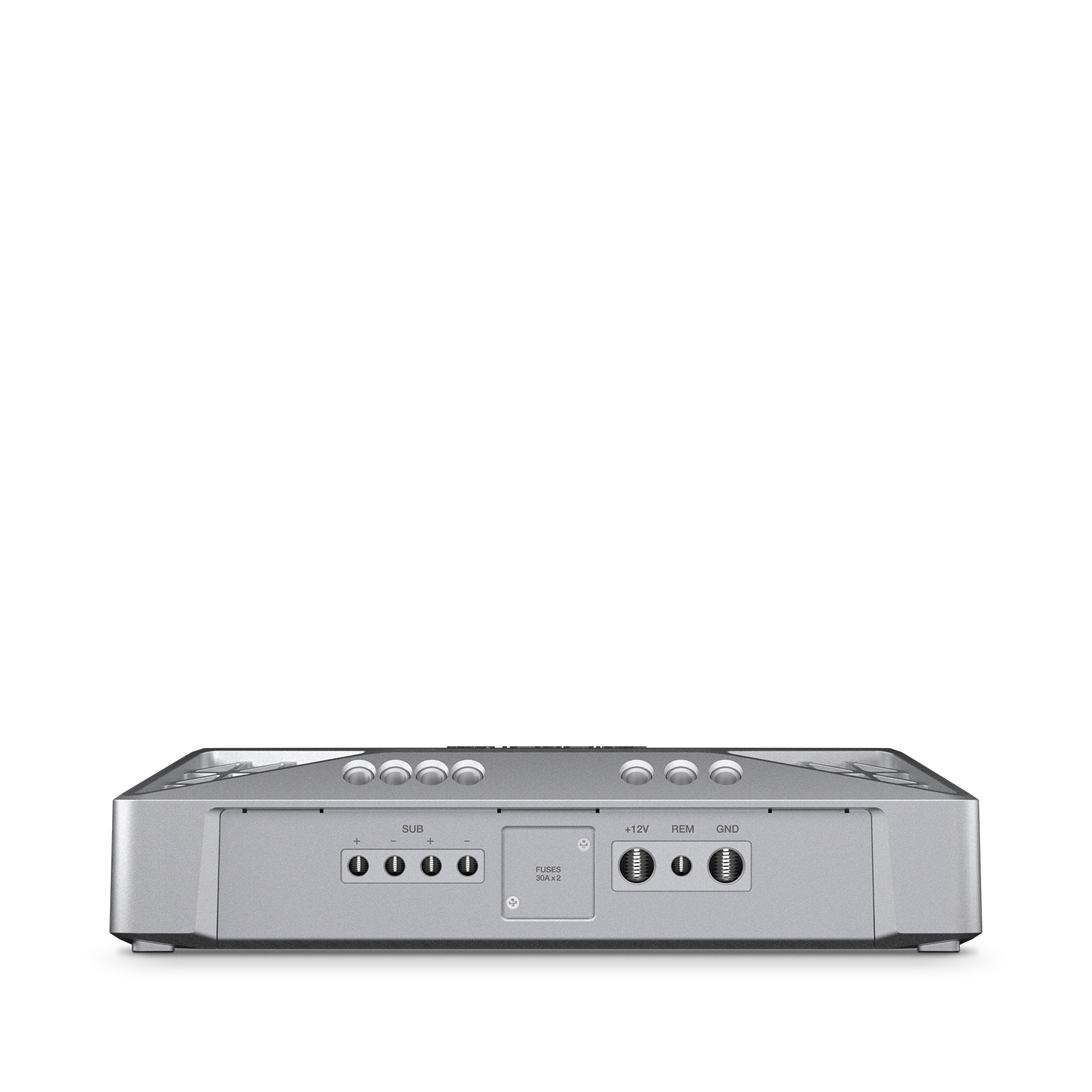 Reference 551A - Silver - Series of high-performance mono, 4-, and 5-channel amplifiers - Detailshot 2