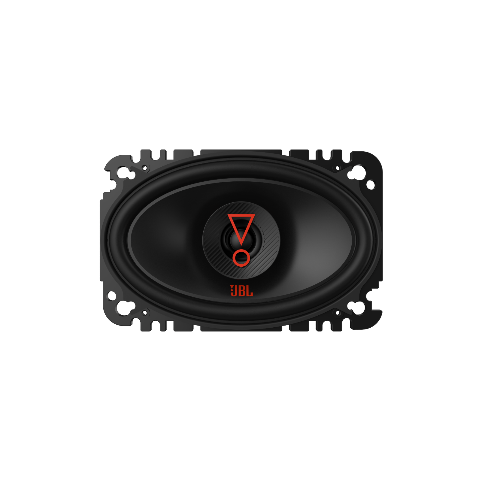 """Stage3  6427 - Black - 4"""" x6""""(100mmx152mm)  2-Way coaxial  car speaker - Front"""