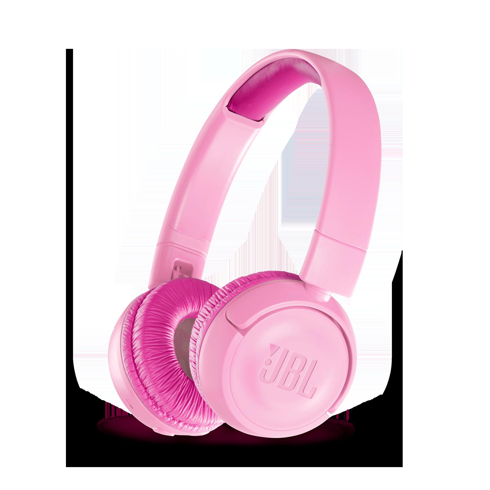 JBL JR300BT - Pink - Kids Wireless on-ear headphones - Hero