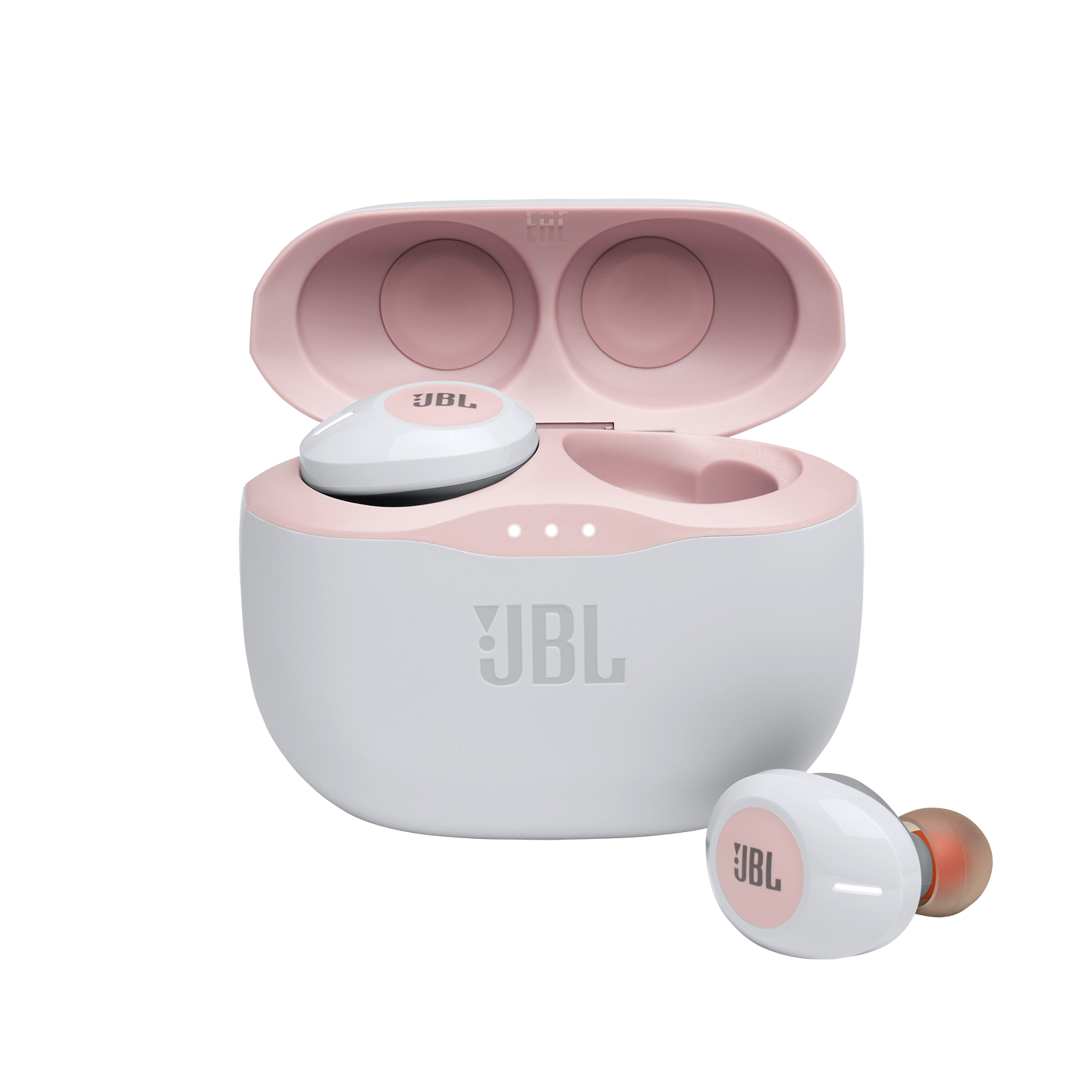 JBL TUNE 125TWS - Pink - Truly wireless in-ear headphones. - Hero