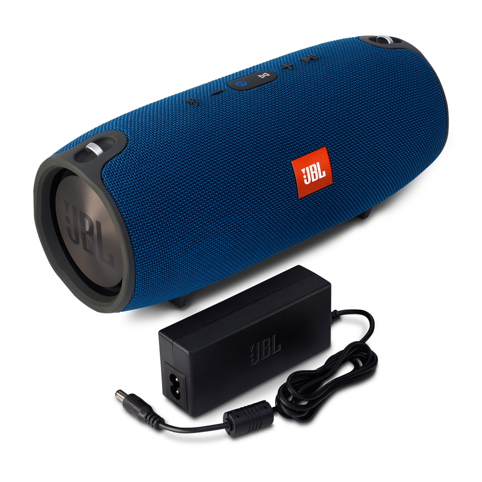 JBL Xtreme - Blue - Splashproof portable speaker with ultra-powerful performance - Detailshot 1