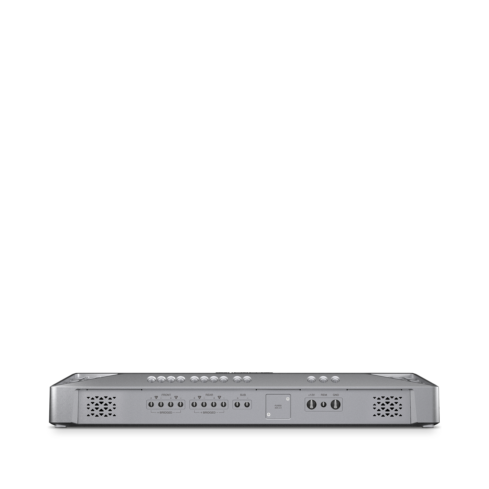 Reference 4555A - Silver - Series of high-performance mono, 4-, and 5-channel amplifiers - Detailshot 2