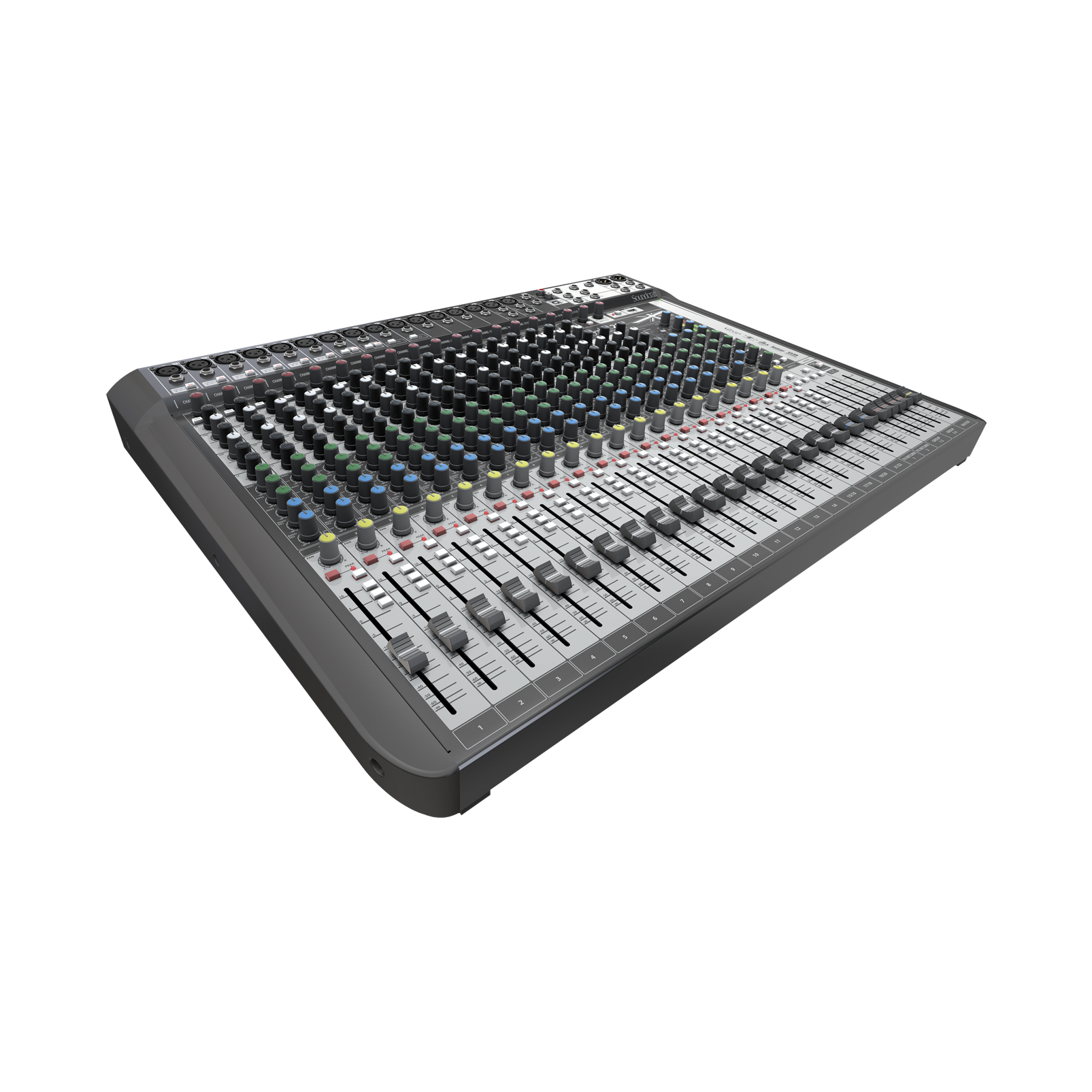 Signature 22 MTK - Black - 22-input analogue mixer with onboard effects - Detailshot 1