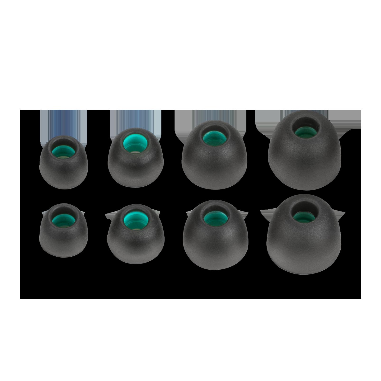 AKG N200NC Wireless - Grey - Wireless, Adaptive Noise Cancelling In-Ear Headphones - Detailshot 2