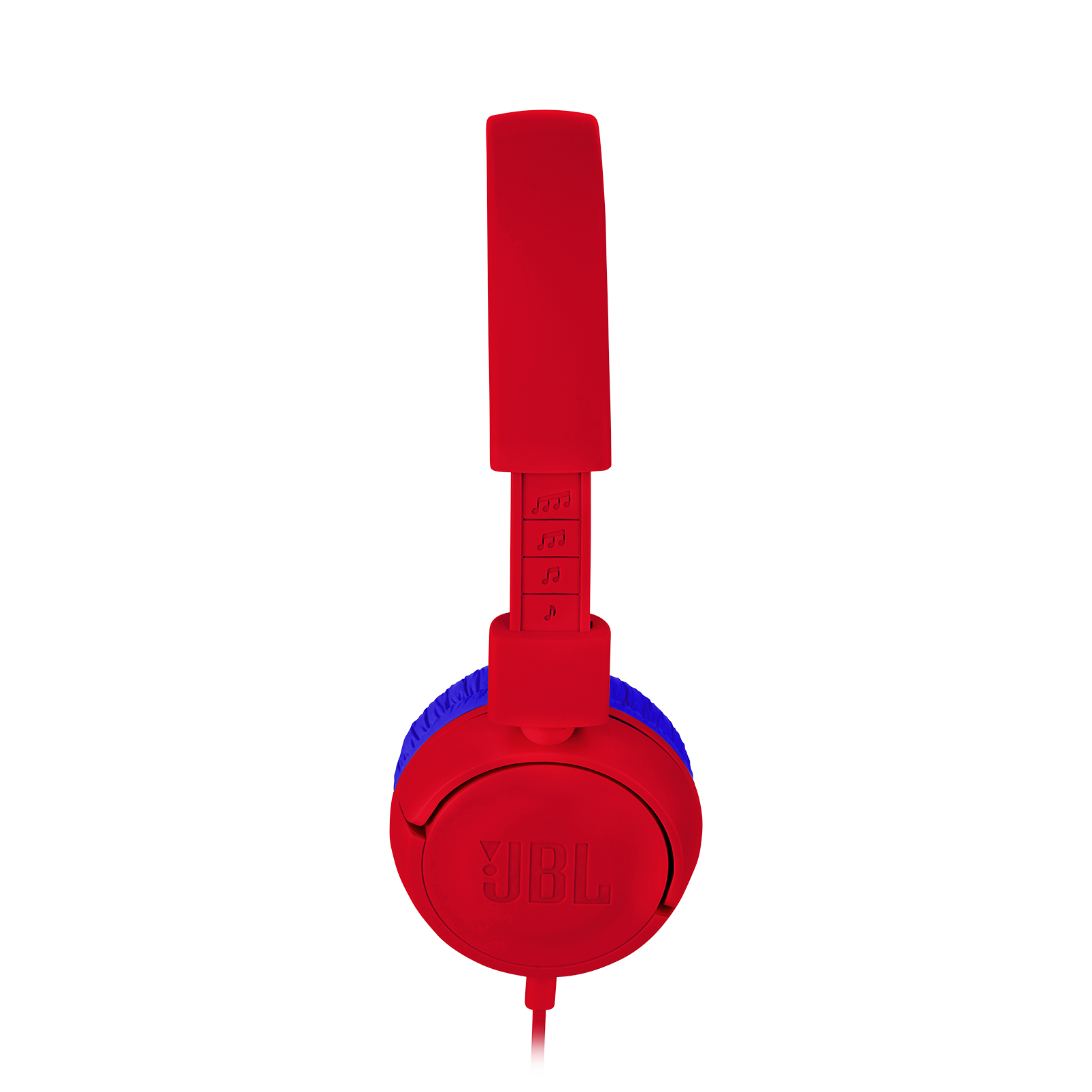 JBL JR300 - Red - Kids on-ear Headphones - Detailshot 2