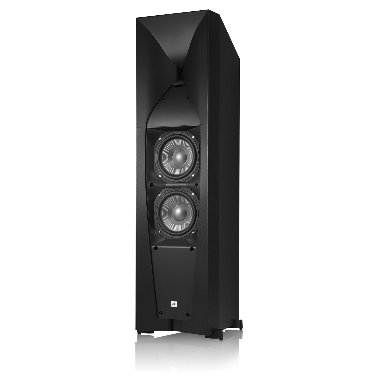 Studio 590 - Black - Professional-quality 250-watt Floorstanding Speaker - Detailshot 1