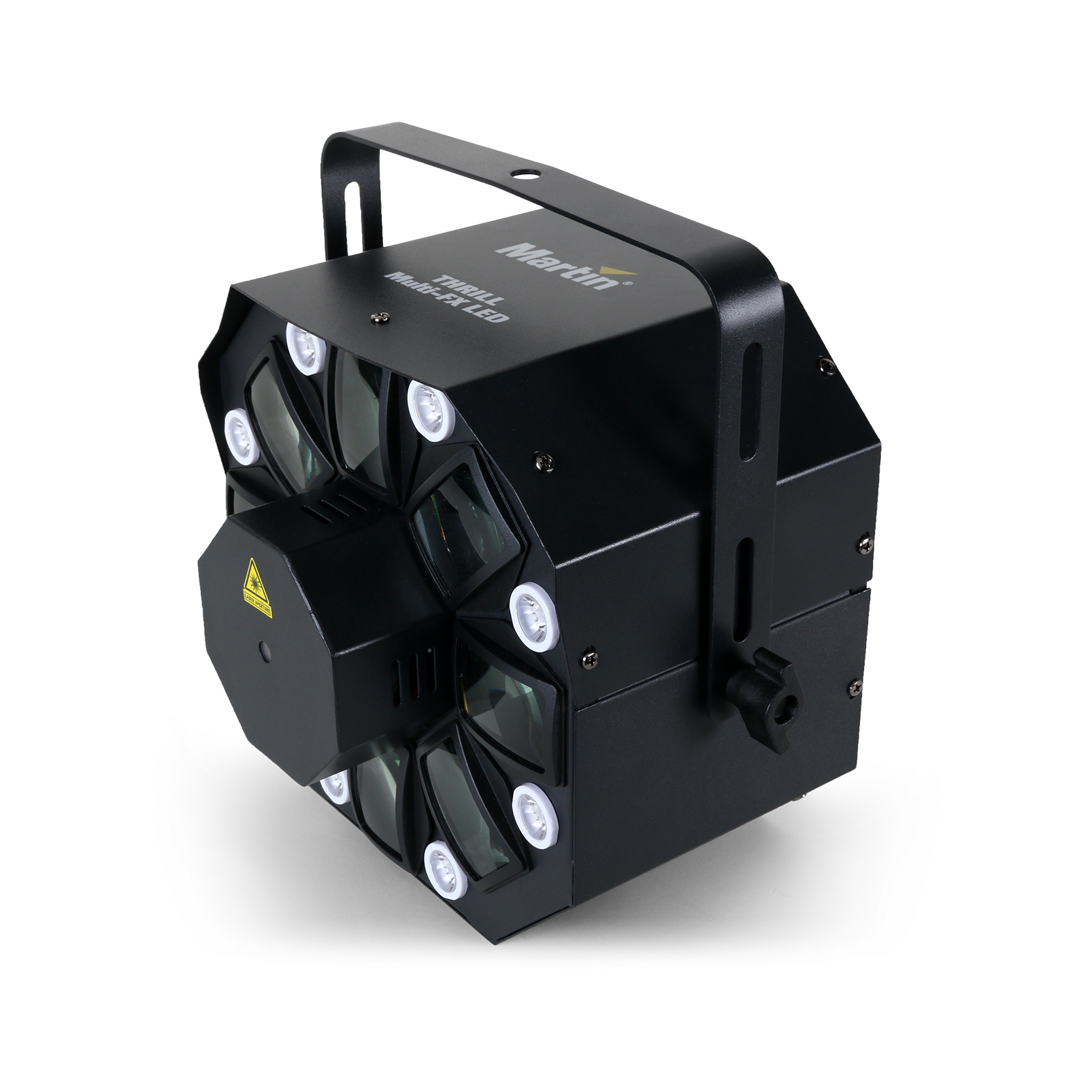 THRILL Multi-FX LED (B-Stock) - Black - Hybrid effect light—multibeam, laser, strobe - Hero