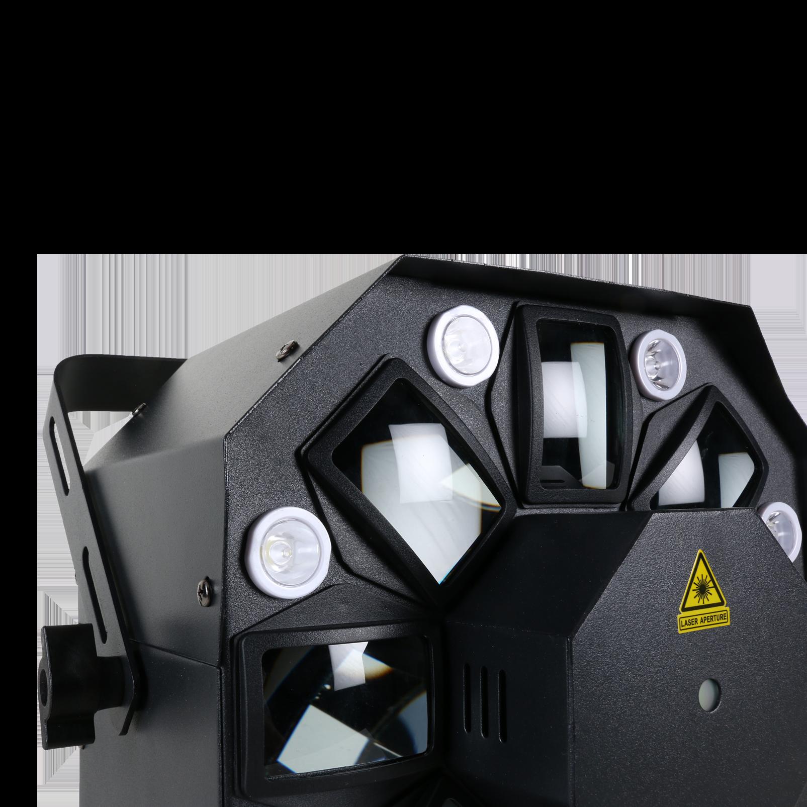 THRILL Multi-FX LED (B-Stock) - Black - Hybrid effect light—multibeam, laser, strobe - Detailshot 2
