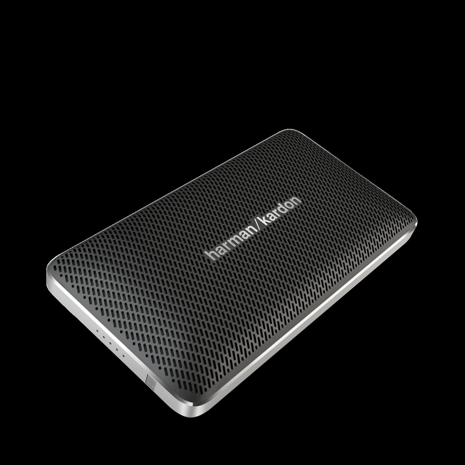 Esquire Mini - Black - Wireless, portable speaker and conferencing system - Hero