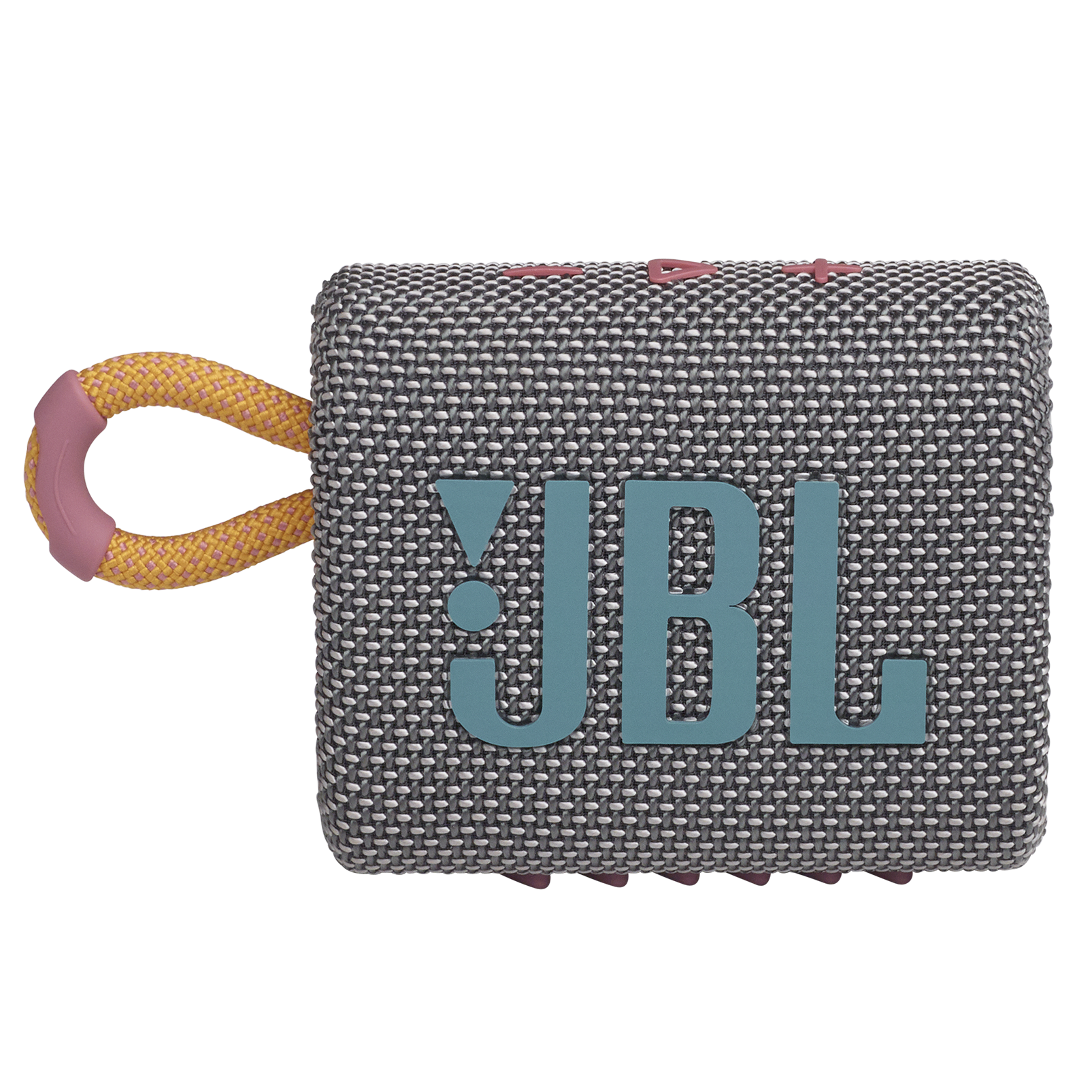 JBL GO 3 - Grey - Portable Waterproof Speaker - Front