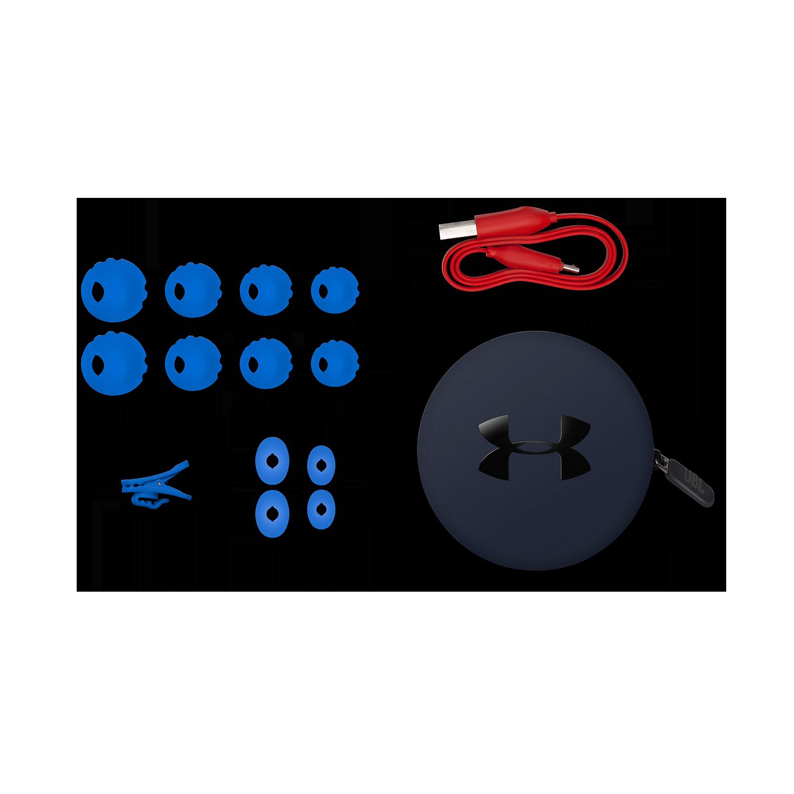 Under Armour Sport Wireless - Blue - Wireless in-ear headphones for athletes - Detailshot 4