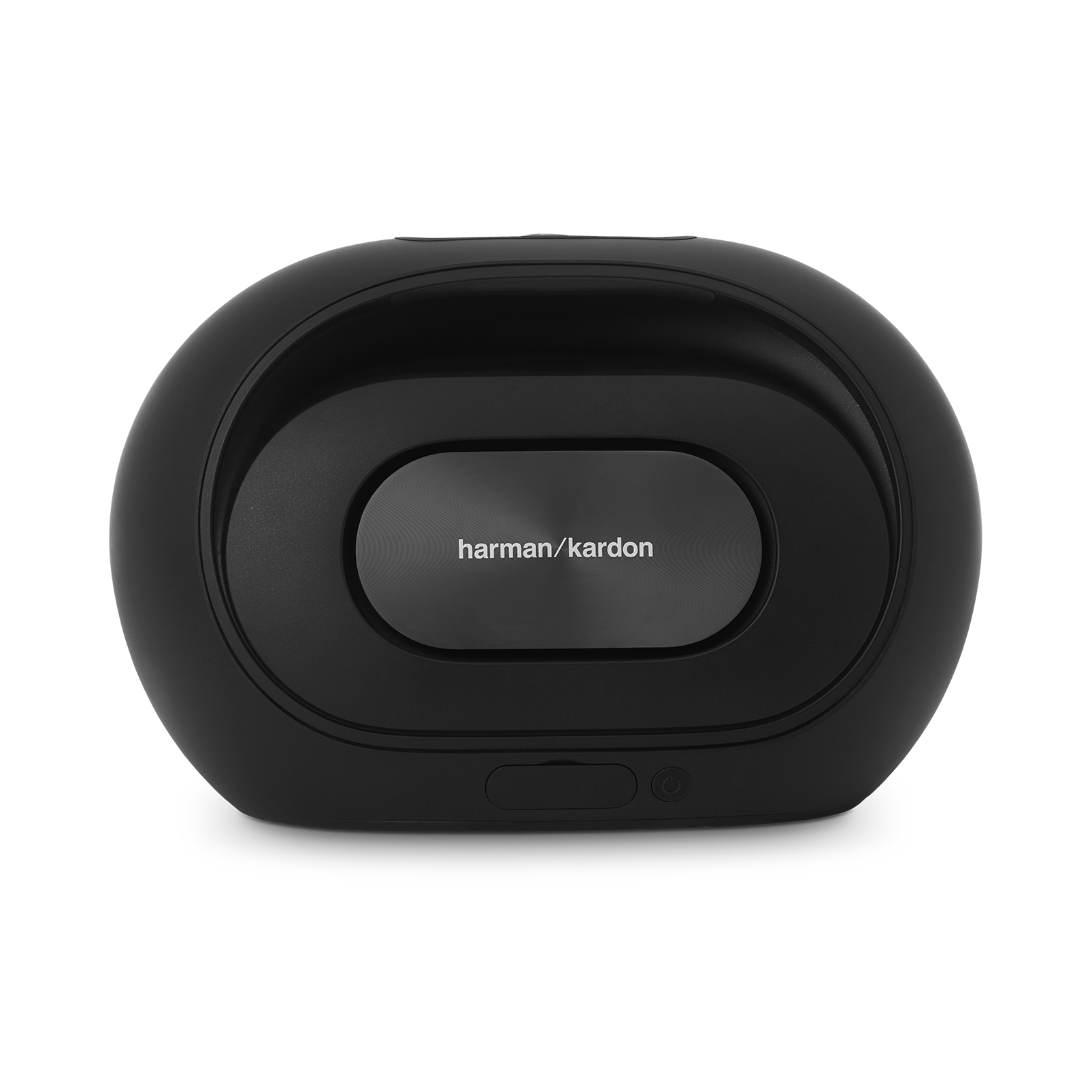 Omni 50+ - Black - Wireless HD Indoor/Outdoor speaker with rechargeable battery - Back