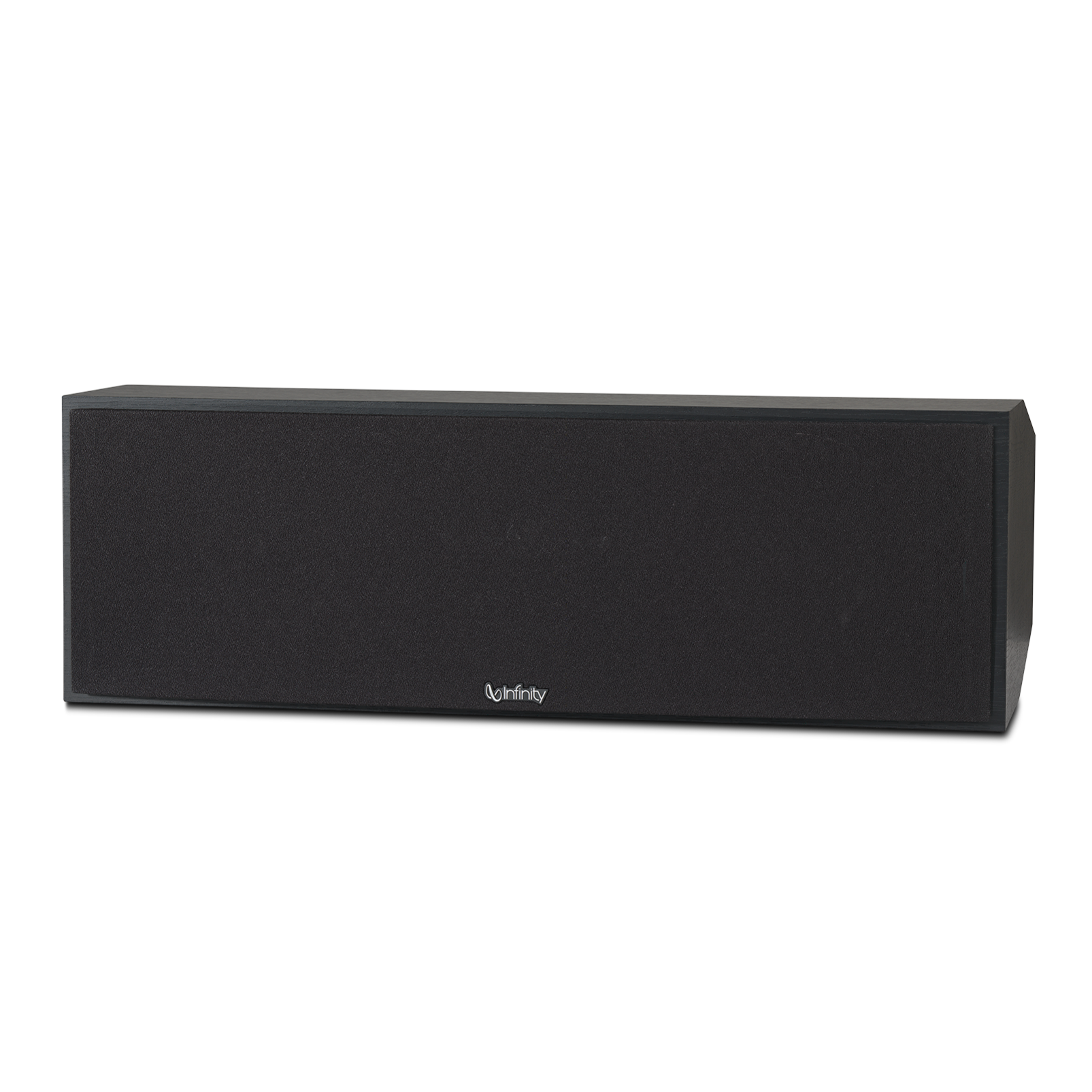 """Reference RC252 - Black - Dual 5-1/4"""" 2.5-Way Center Channel Loudspeaker - Front"""
