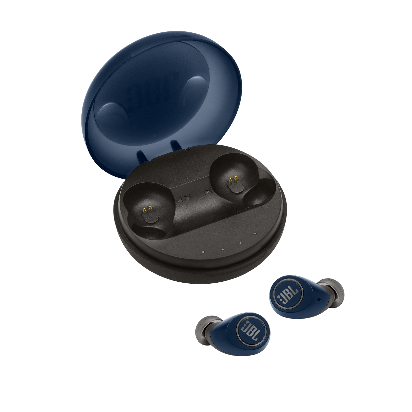 JBL Free X - Blue - Truly wireless in-ear headphones - Hero