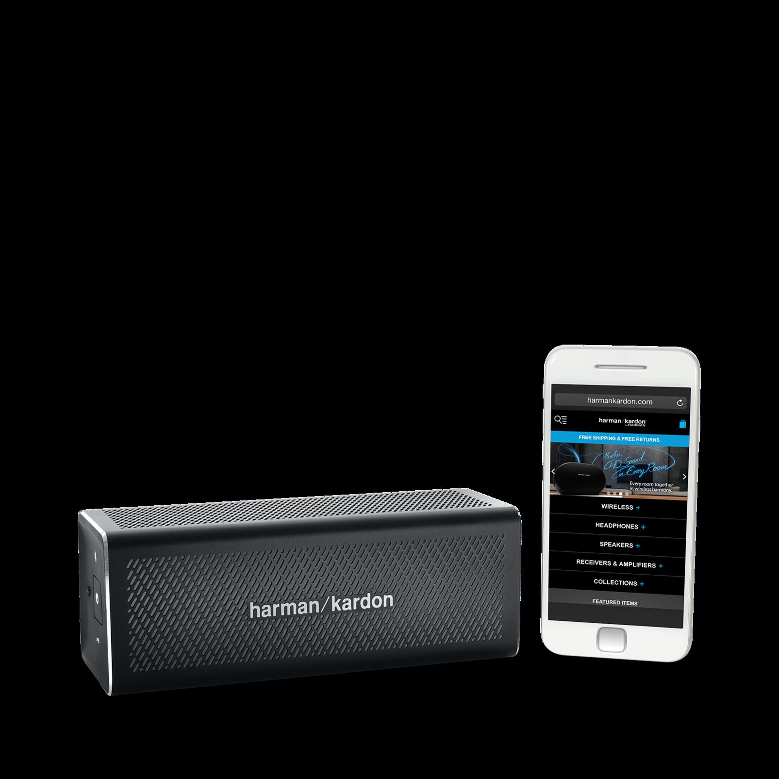 HK One - Black - Portable Bluetooth Speaker - Detailshot 7