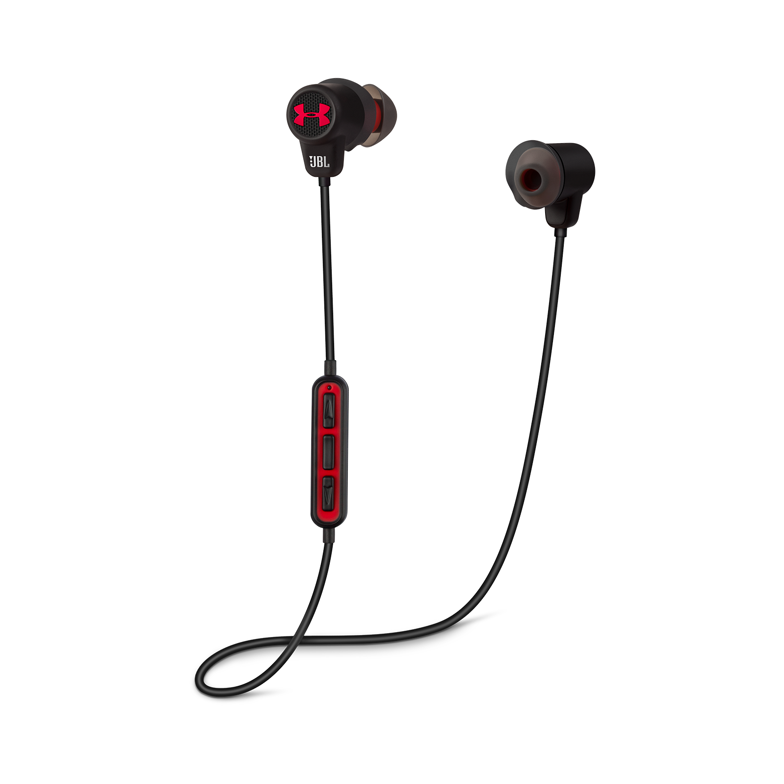 Under Armour Sport Wireless - Black - Wireless in-ear headphones for athletes - Detailshot 1