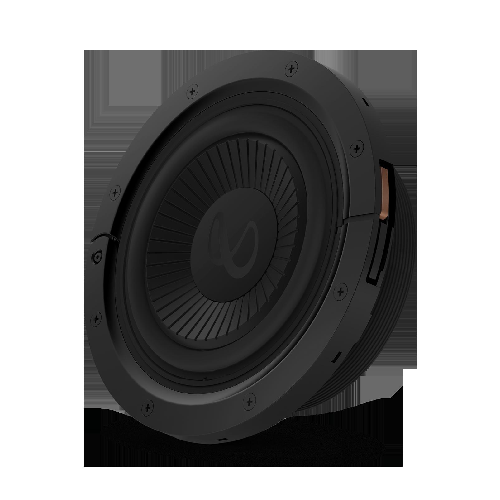 "Reference Flex Woofer 8d - Black - 8"" (200mm) adjustable depth car audio subwoofers optimized for factory location upgrades - Hero"