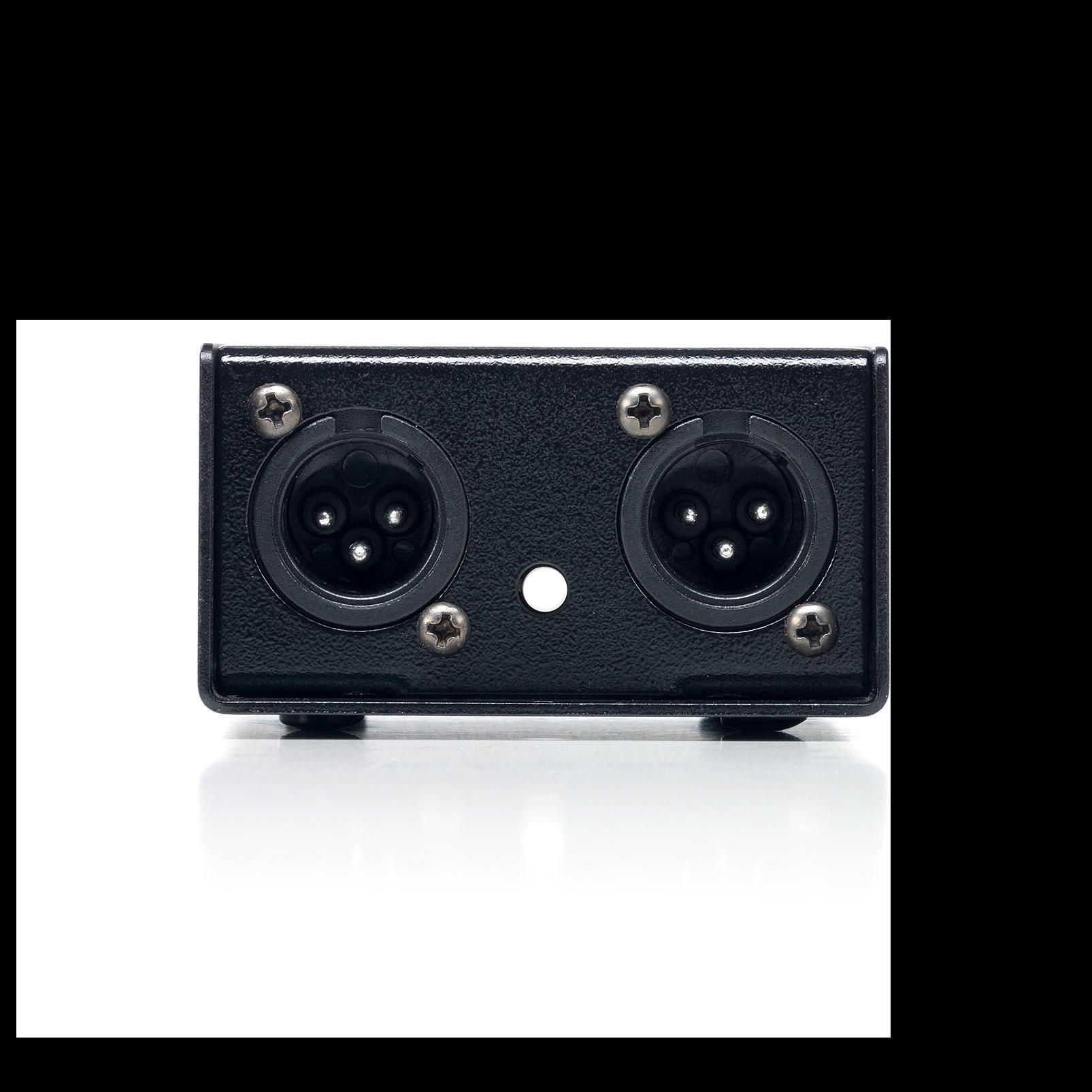 DJdi - Black - 2-channel Passive Direct Box - Front