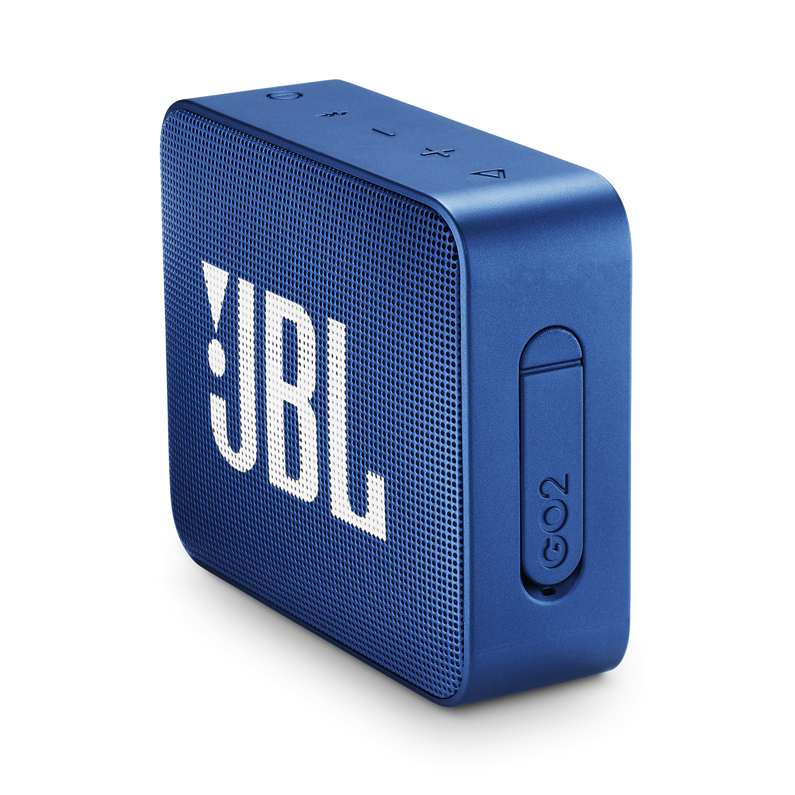 JBL GO 2 - Blue - Portable Bluetooth speaker - Detailshot 2