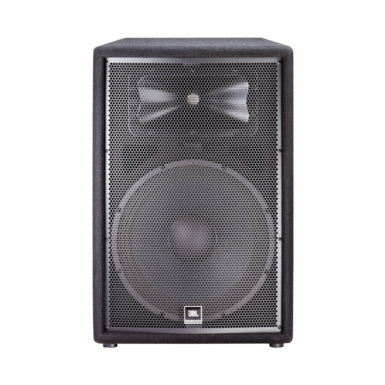 """JBL JRX215 - Black - 15"""" Two-Way Sound Reinforcement Loudspeaker System - Front"""