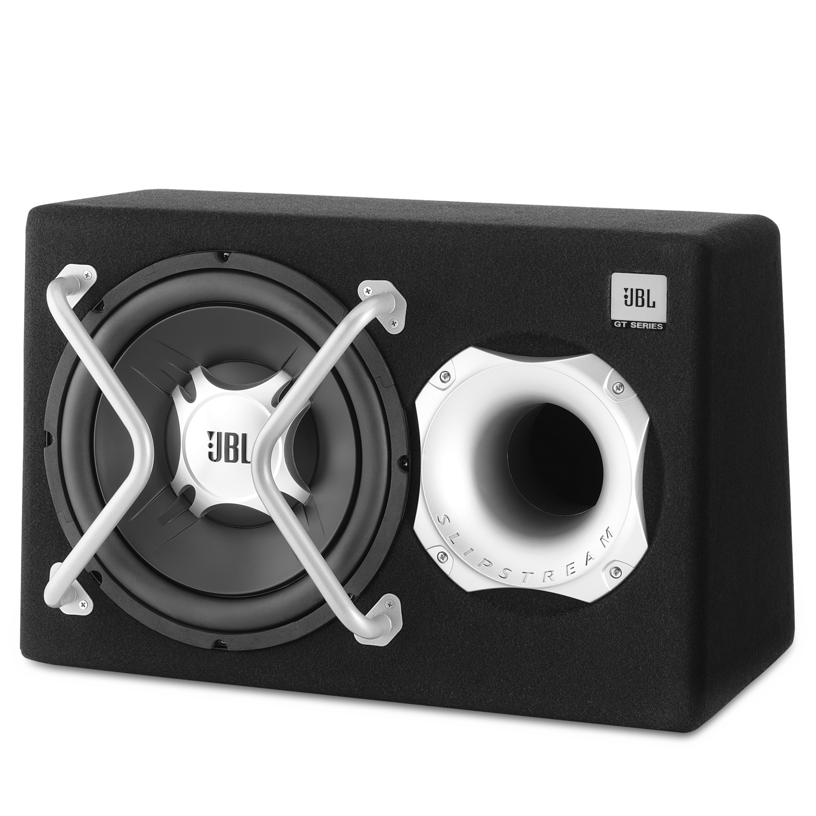 "GT-BASSPRO12 - Black - 450-watt, 12"" powered subwoofer system - Hero"