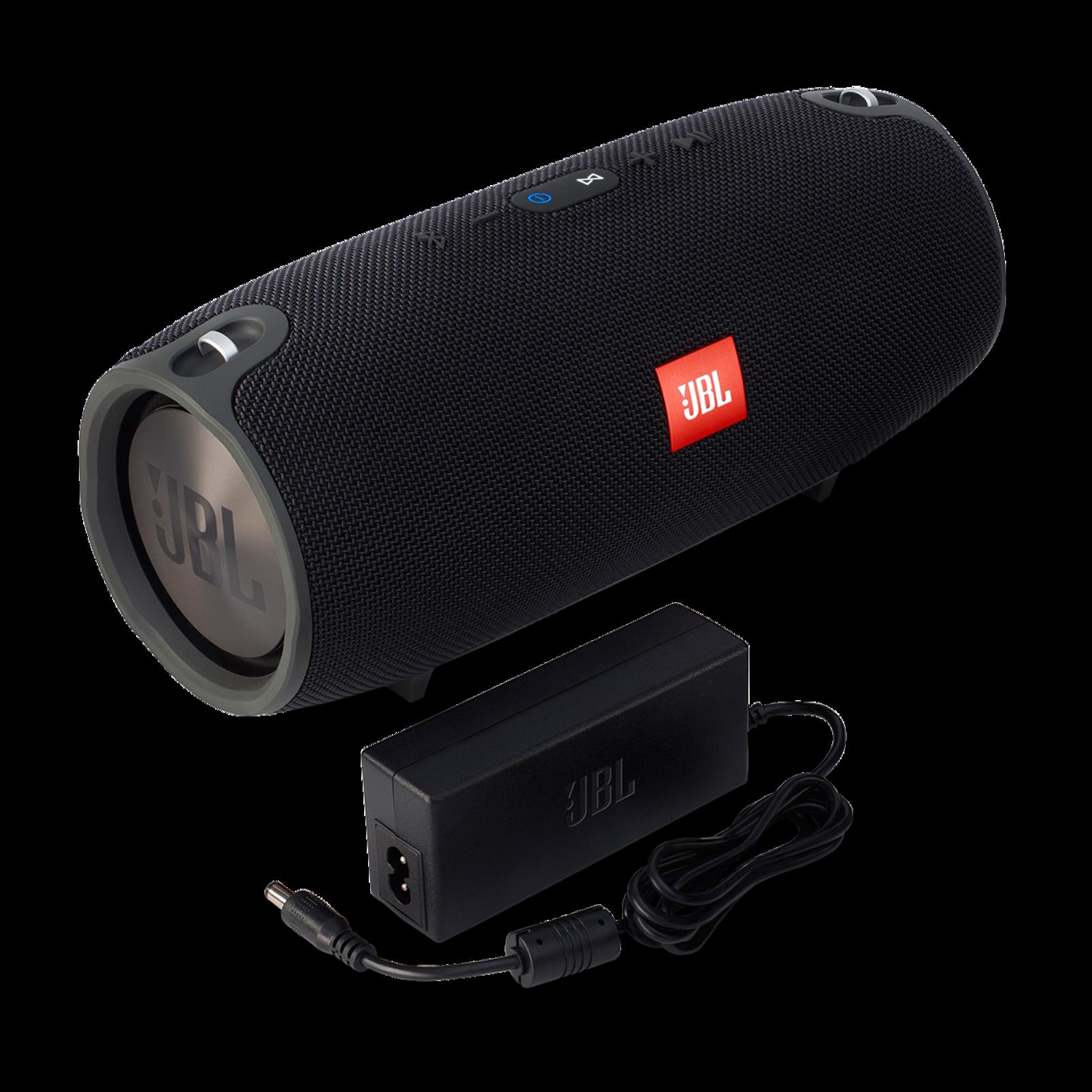 JBL Xtreme - Black - Splashproof portable speaker with ultra-powerful performance - Detailshot 1