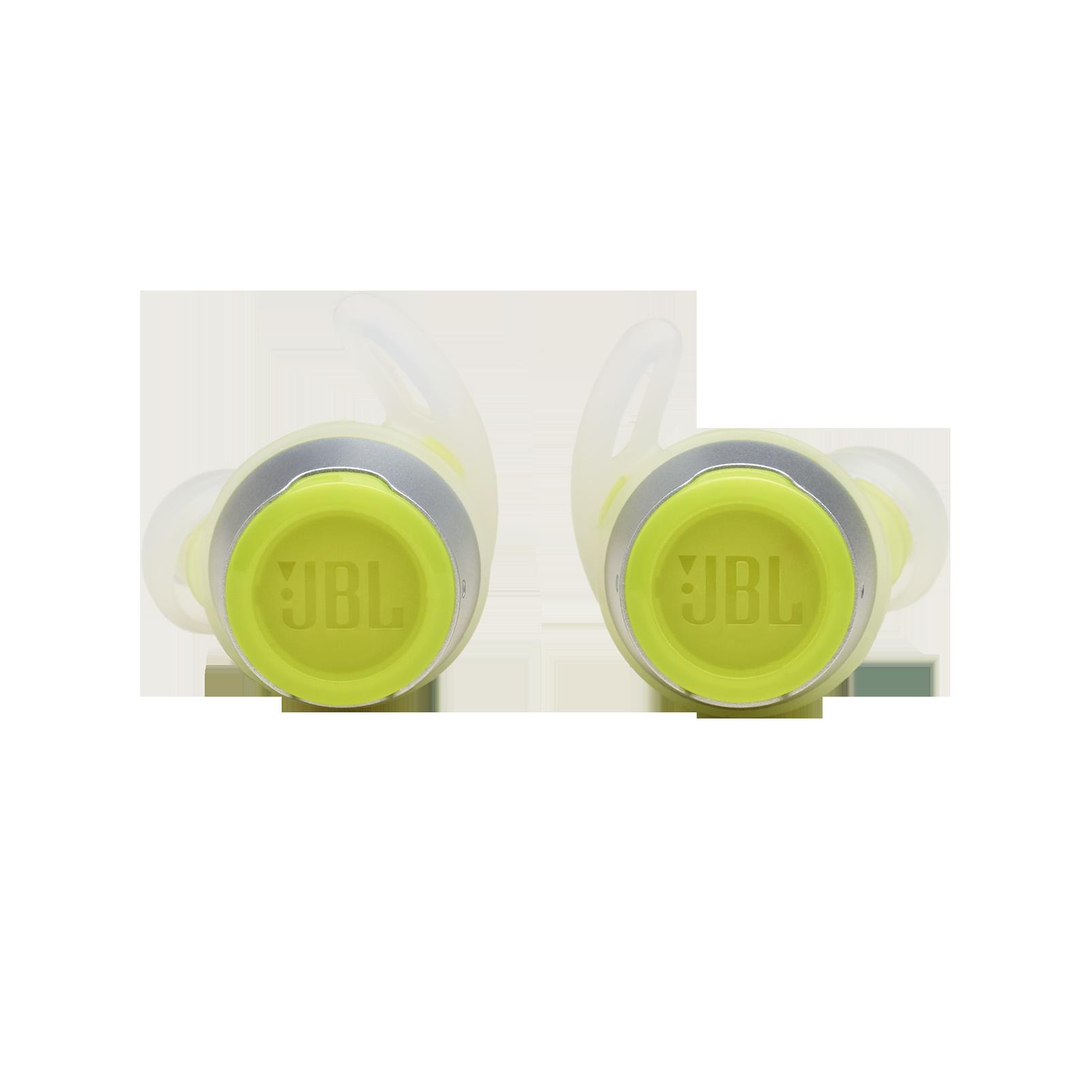 JBL REFLECT FLOW - Green - True wireless sport headphones. - Front