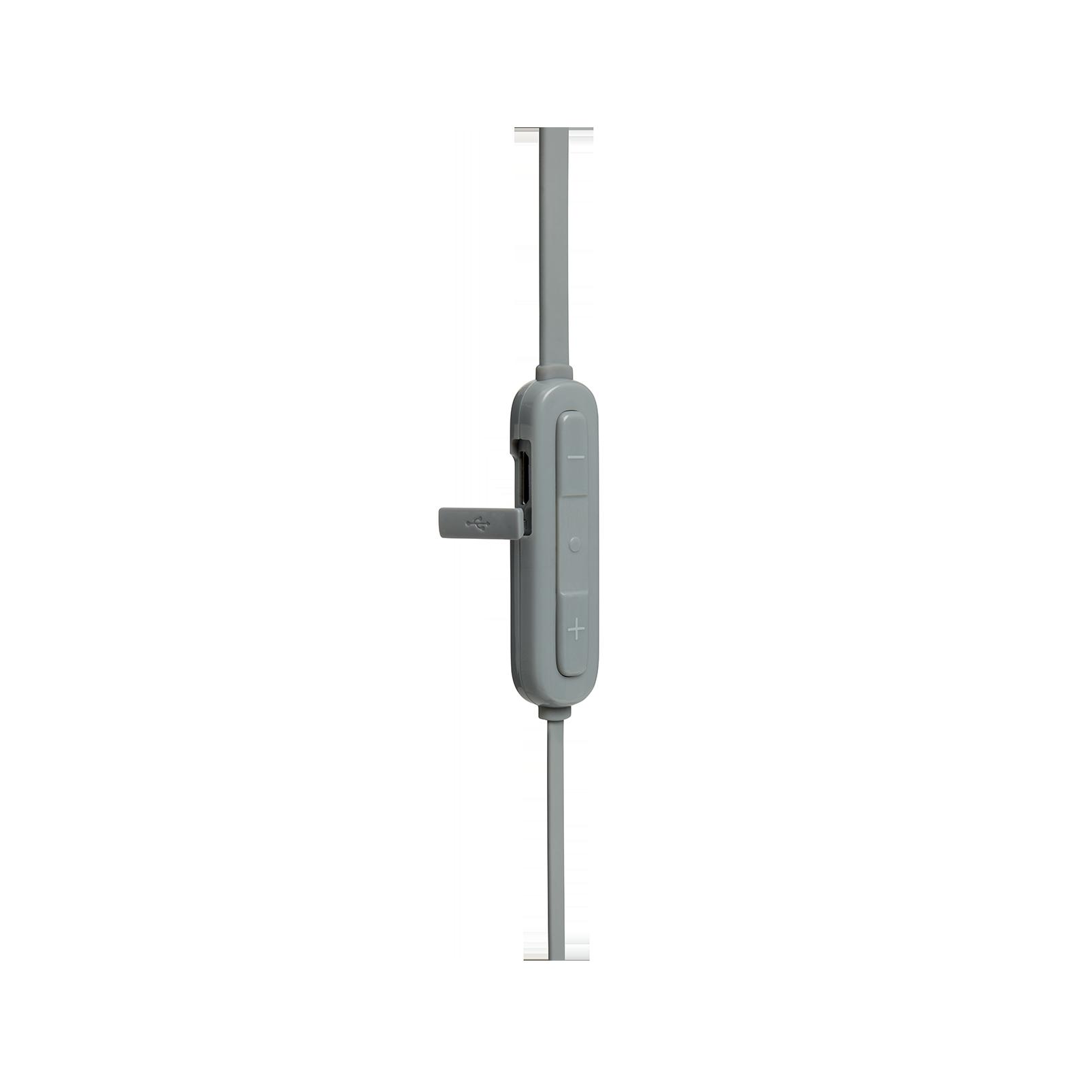 JBL TUNE 110BT - Grey - Wireless in-ear headphones - Detailshot 2