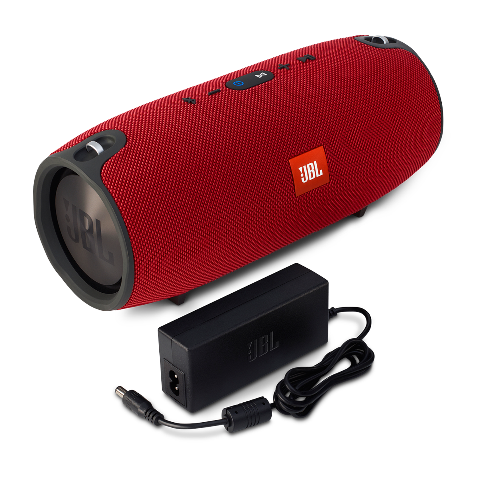JBL Xtreme - Red - Splashproof portable speaker with ultra-powerful performance - Detailshot 1