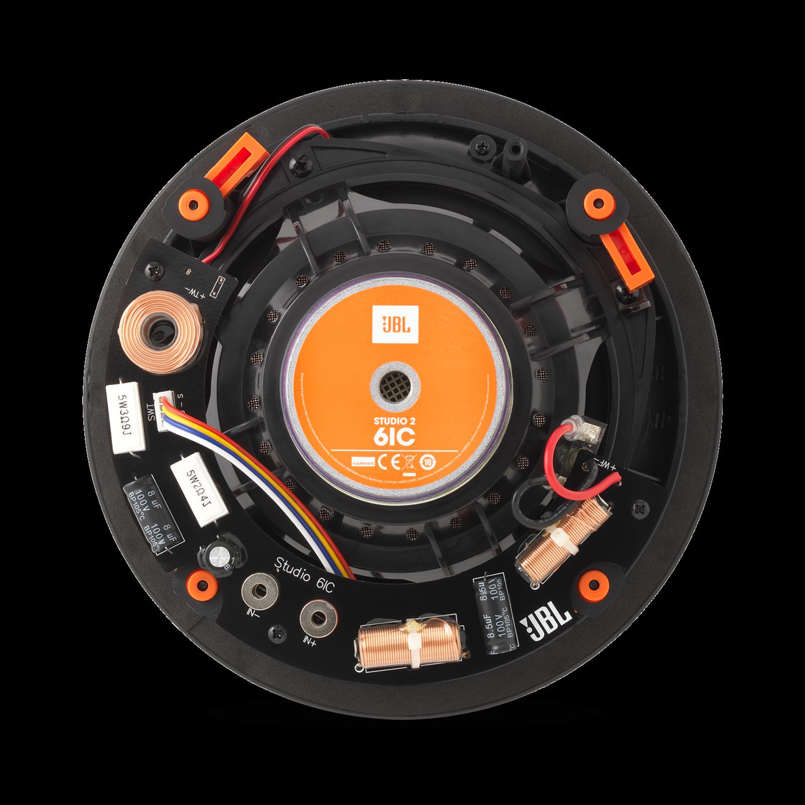 """Studio 2 6IC - Black - Premium In-Ceiling Loudspeaker with 6-1/2"""" woofer - Back"""