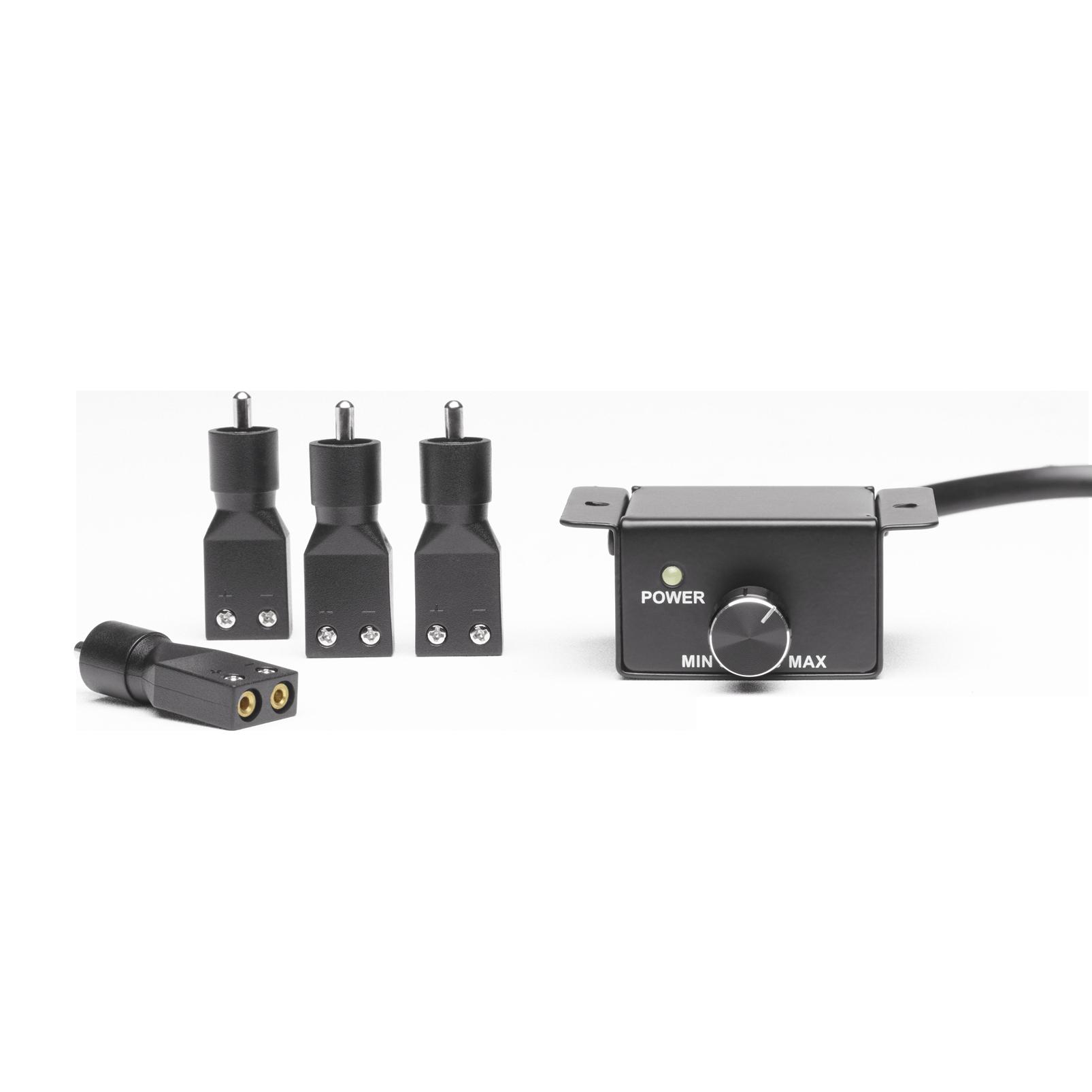 Reference 7005A - Black - High performance 5 channel car amplifier - Detailshot 1