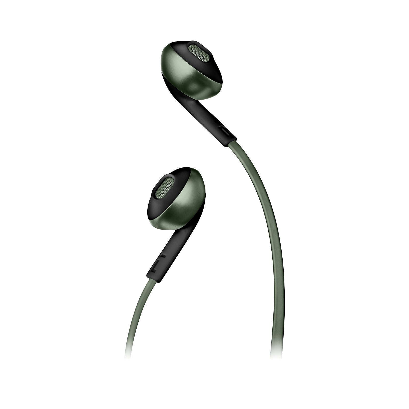 JBL TUNE 205BT - Green - Wireless Earbud headphones - Detailshot 1